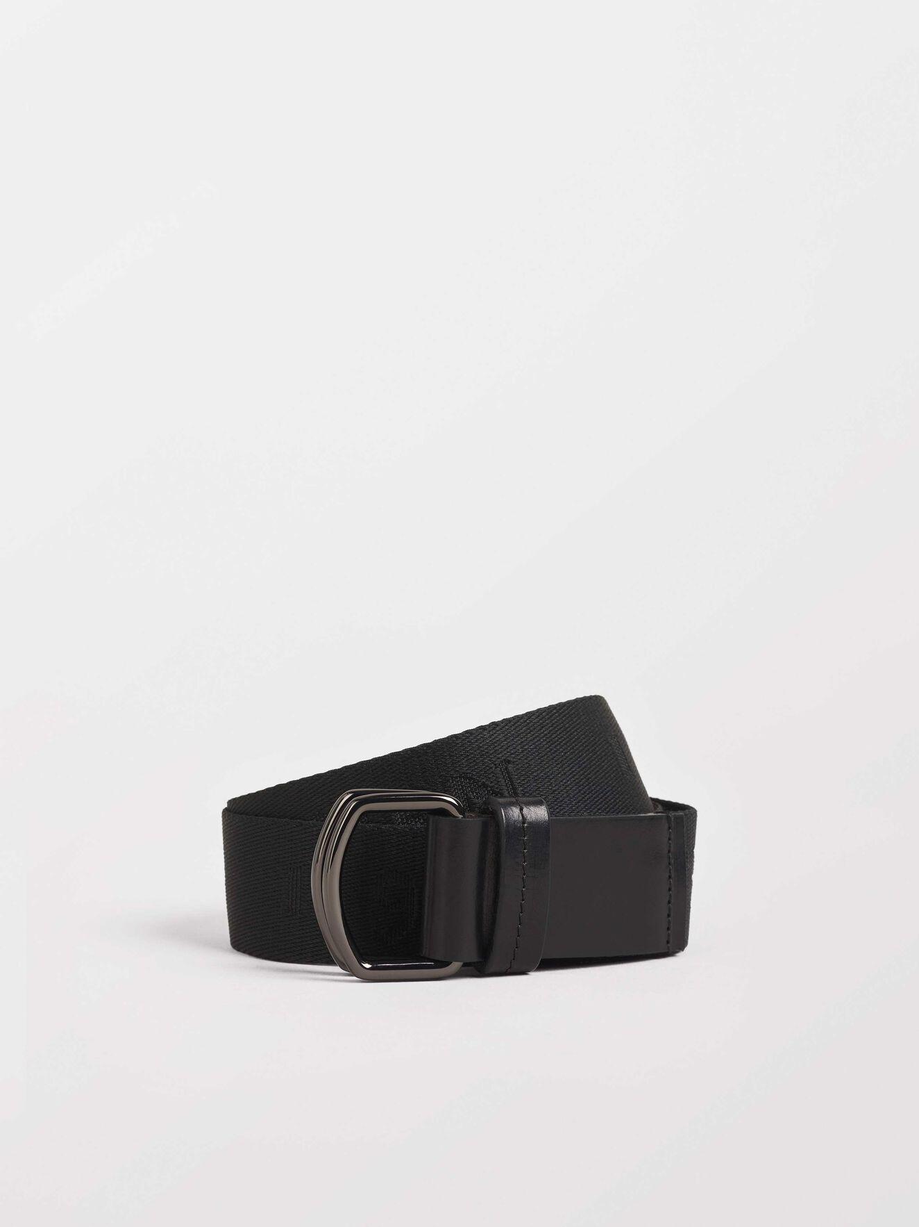 Blivit Belt in Black from Tiger of Sweden