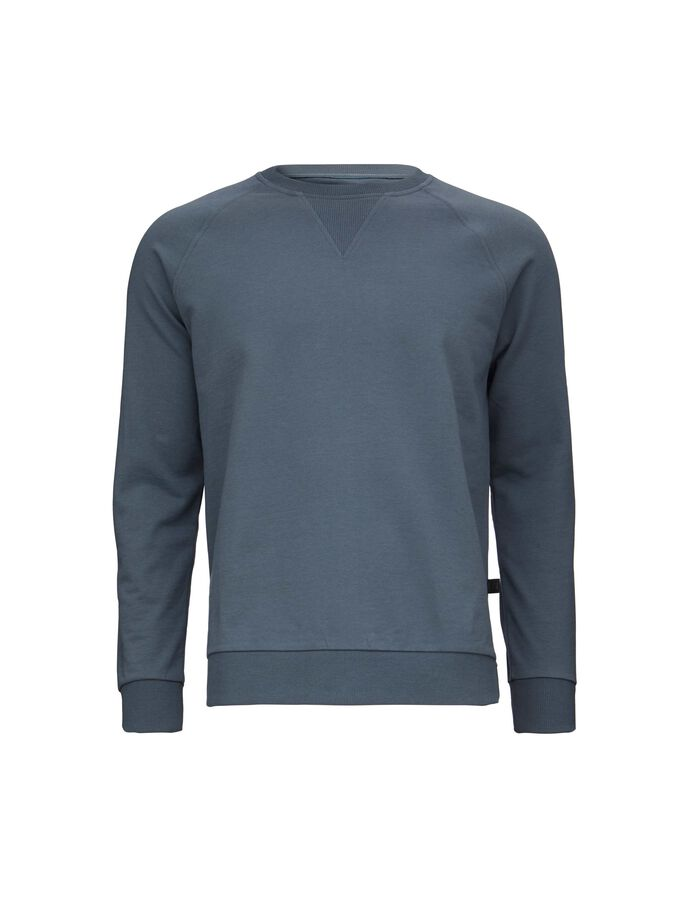 SLIZE SWEATSHIRT in Ocean Grey from Tiger of Sweden