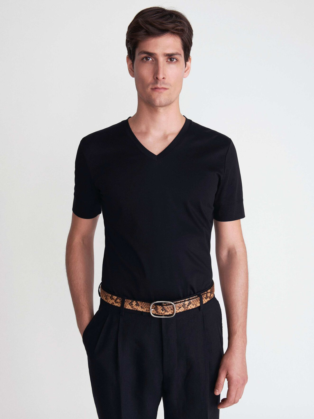 Diyon T-Shirt in Black from Tiger of Sweden