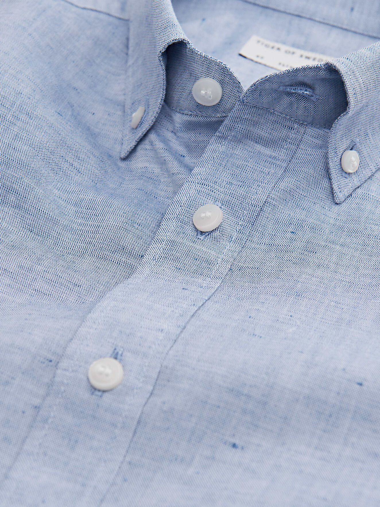 Fenald Shirt in Light blue from Tiger of Sweden