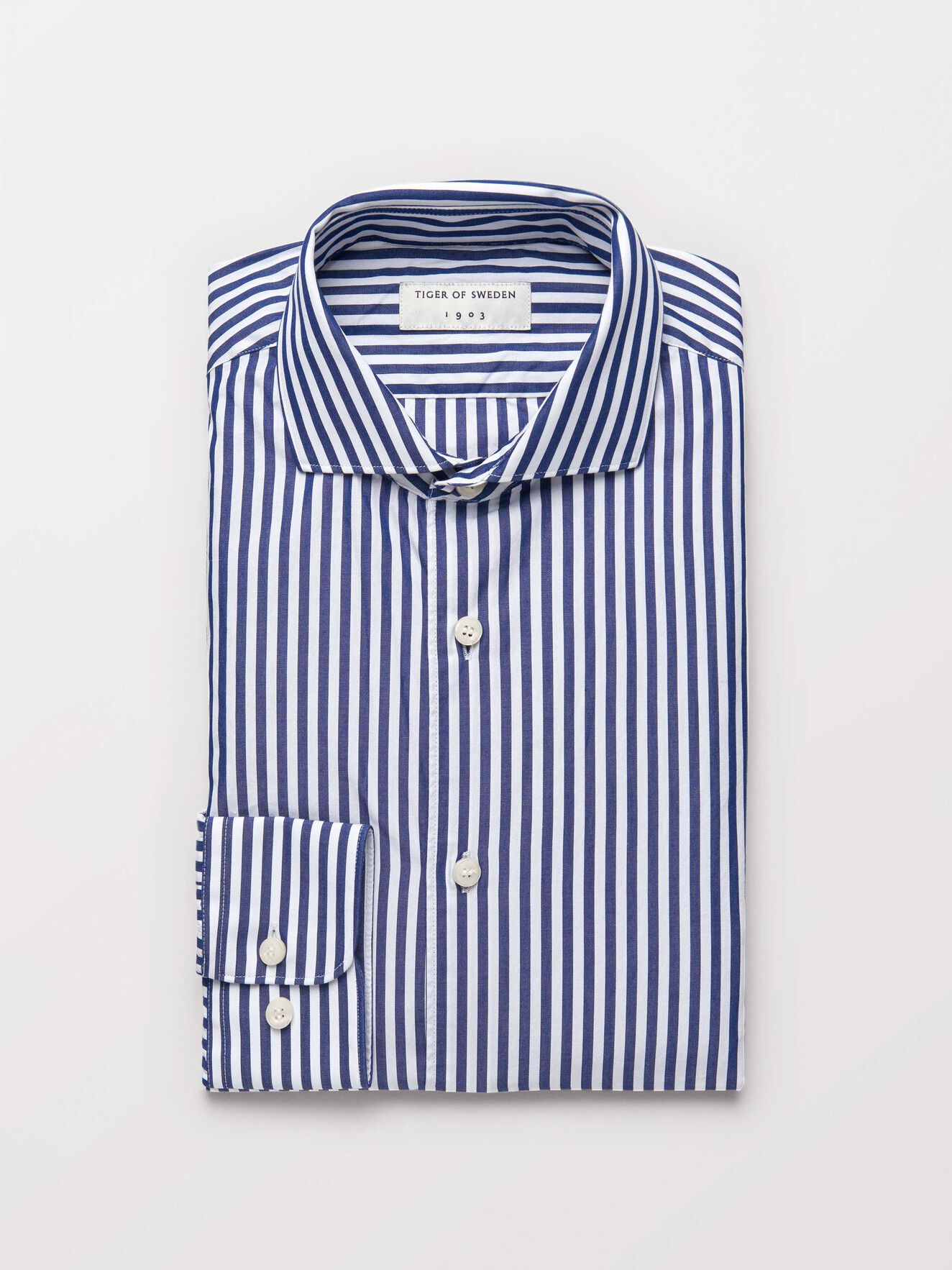 Farrell 5 Shirt in Light Ink from Tiger of Sweden