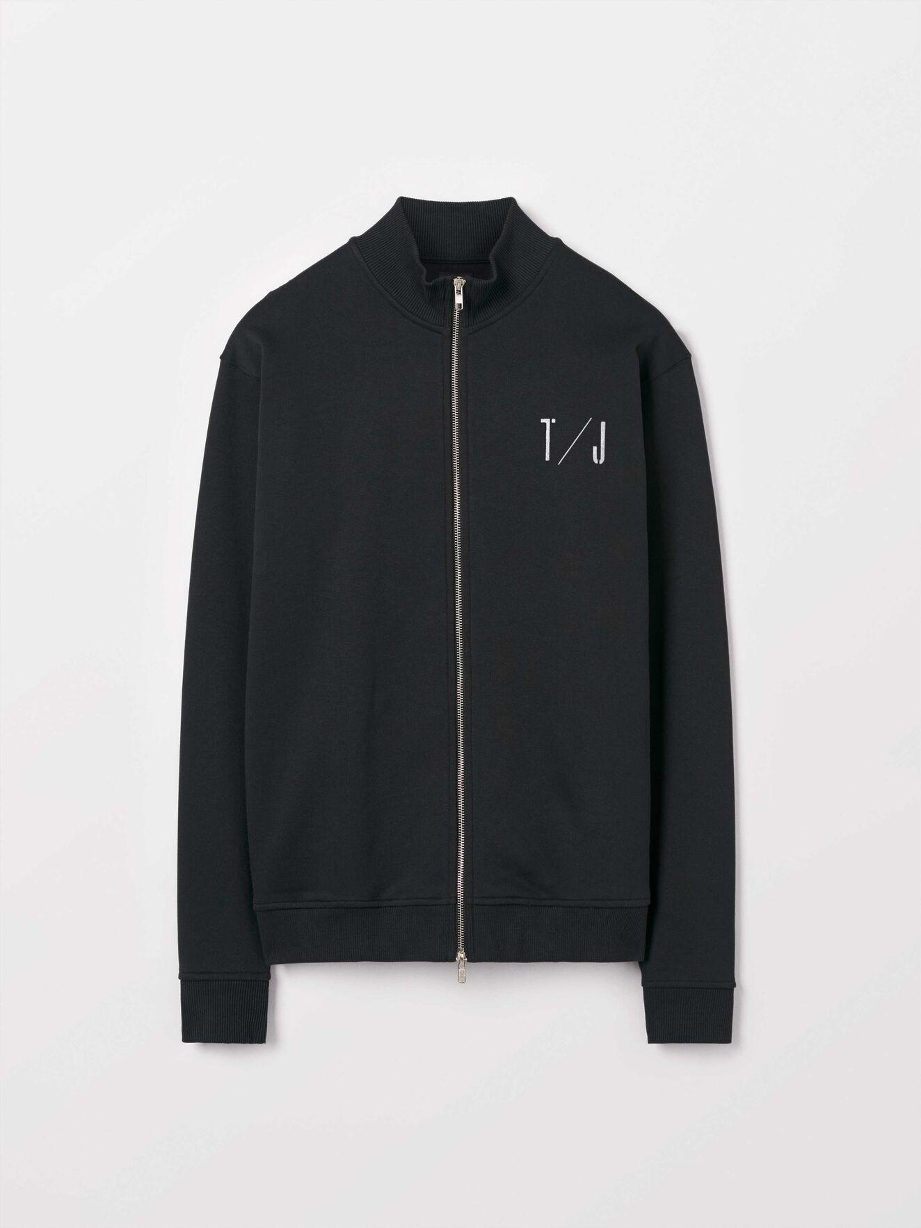 Pras Sweatshirt in Black from Tiger of Sweden