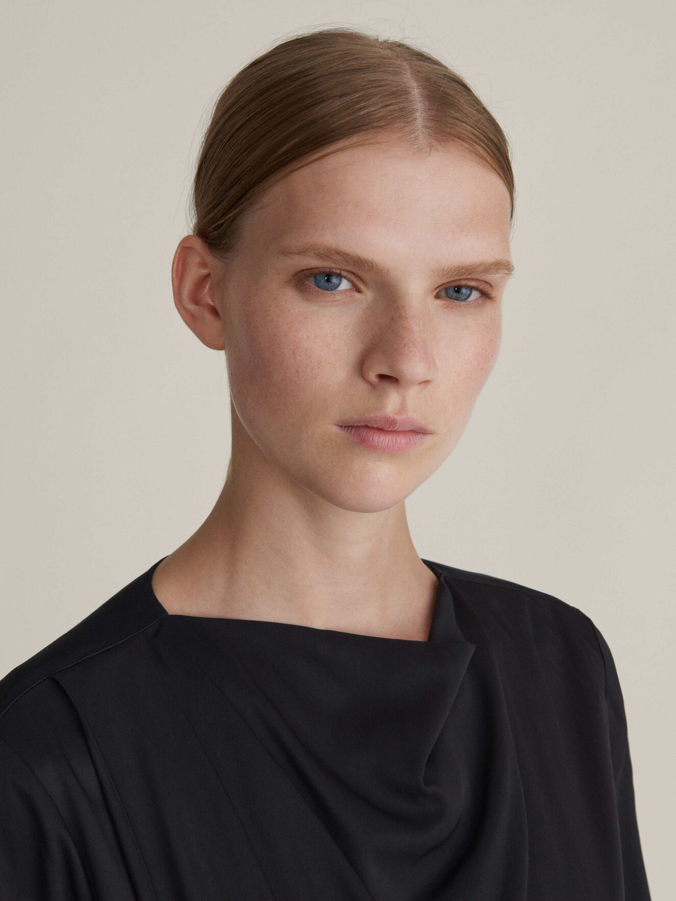 Pisces Shirt in Midnight Black from Tiger of Sweden