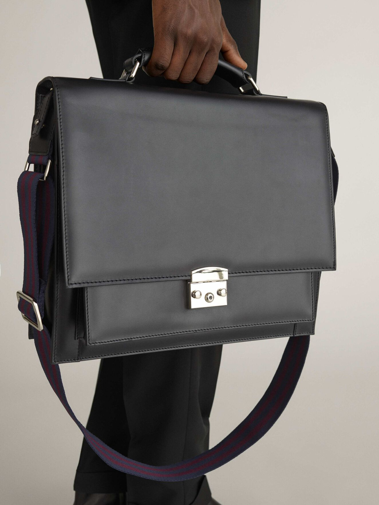 Wedge Briefcase in Black from Tiger of Sweden
