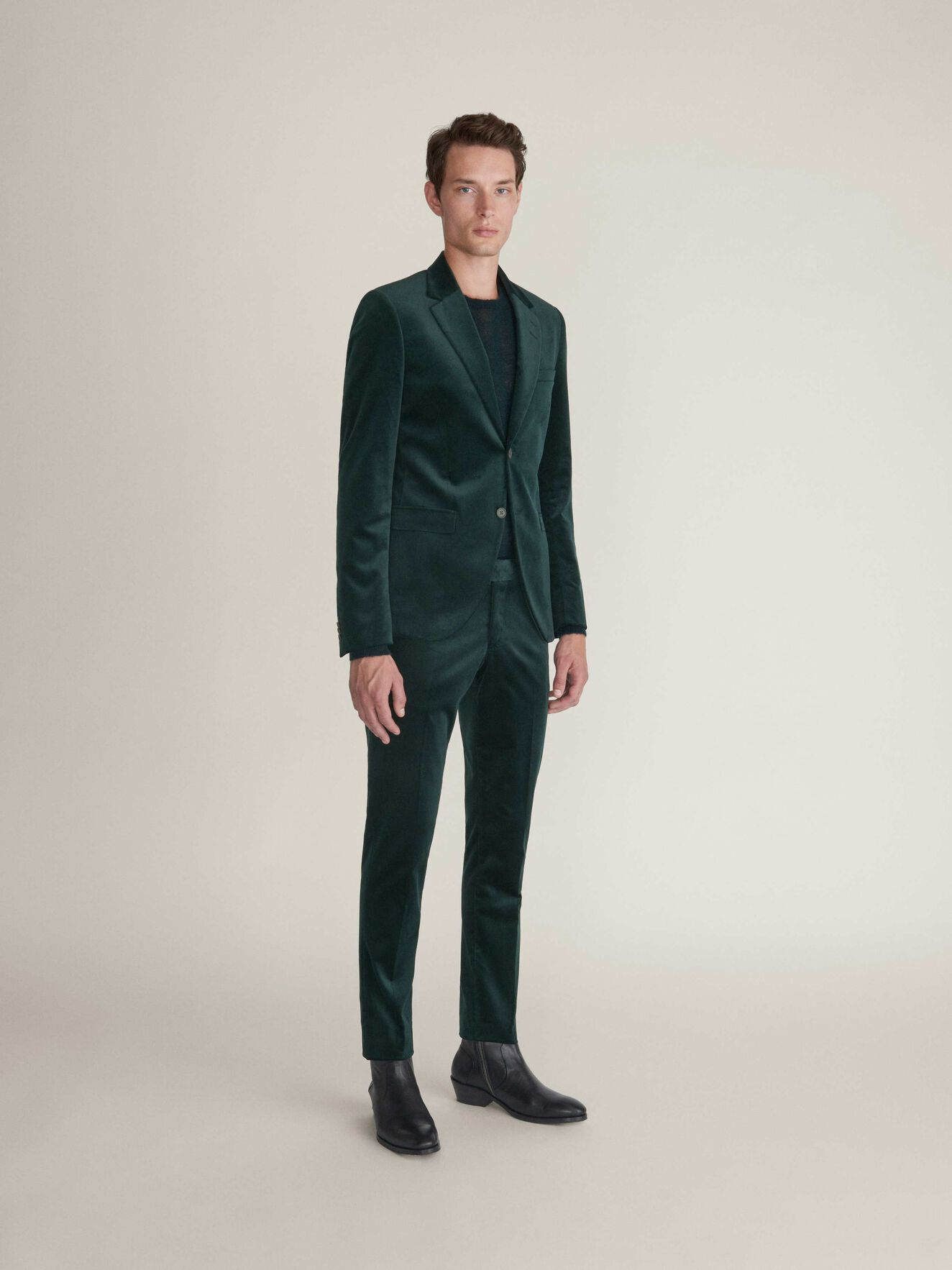 Tordon Trousers in Scarab Green from Tiger of Sweden