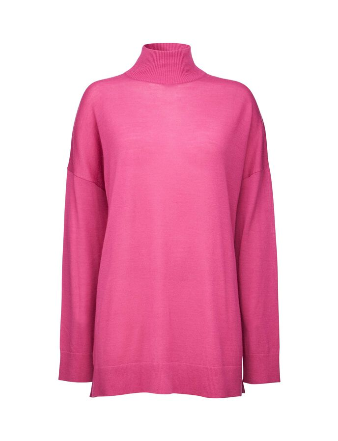 SPIN PULLOVER in Dk Pink from Tiger of Sweden