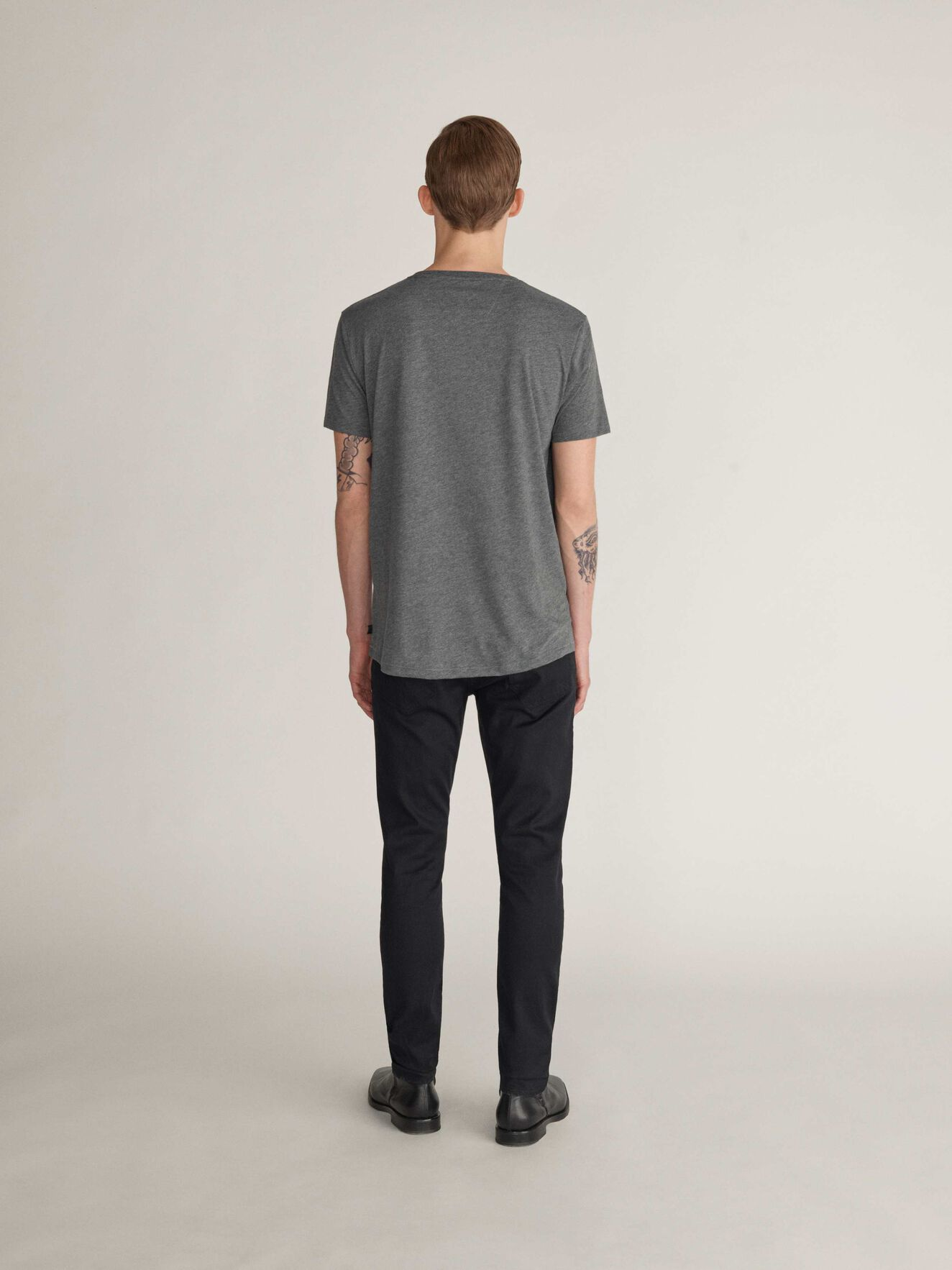 Corey Sol T-Shirt in Grey melange from Tiger of Sweden