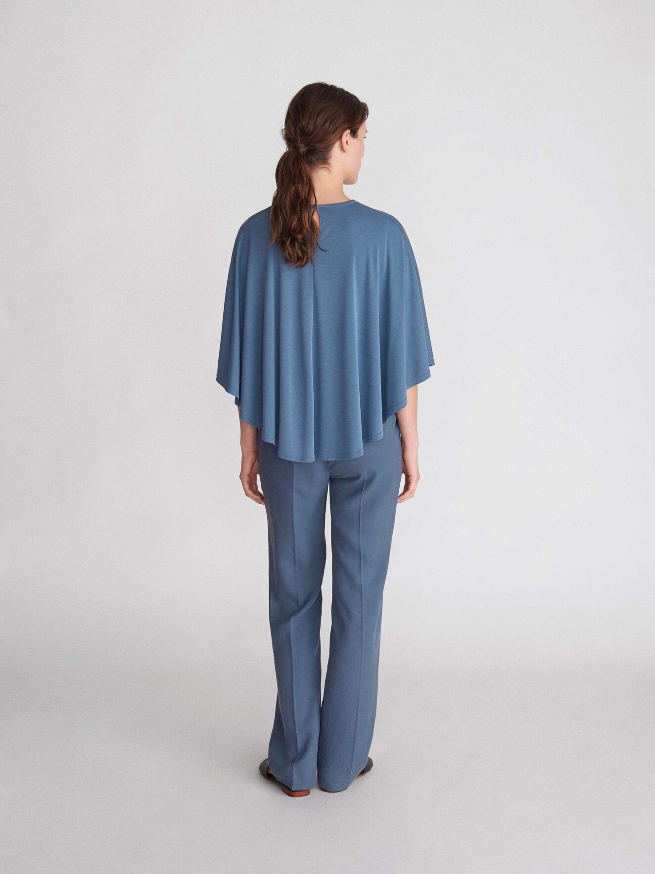 Thilia M Top in Soft blue from Tiger of Sweden