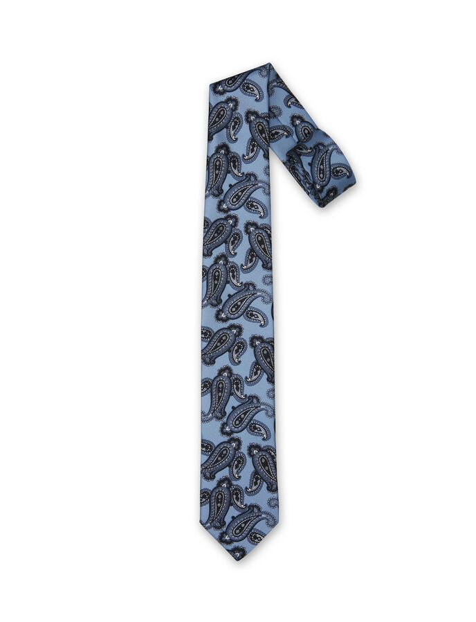 VERNI TIE in Shady Blue from Tiger of Sweden