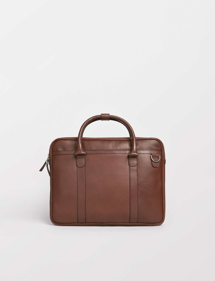 Marquet briefcase in Medium Brown from Tiger of Sweden