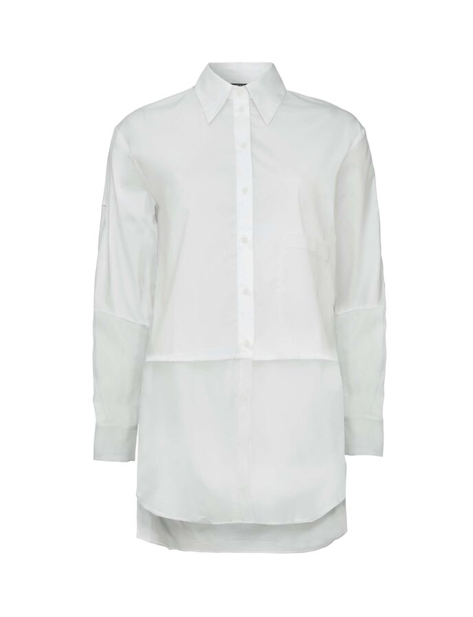 Kakia Shirt in Bright White from Tiger of Sweden