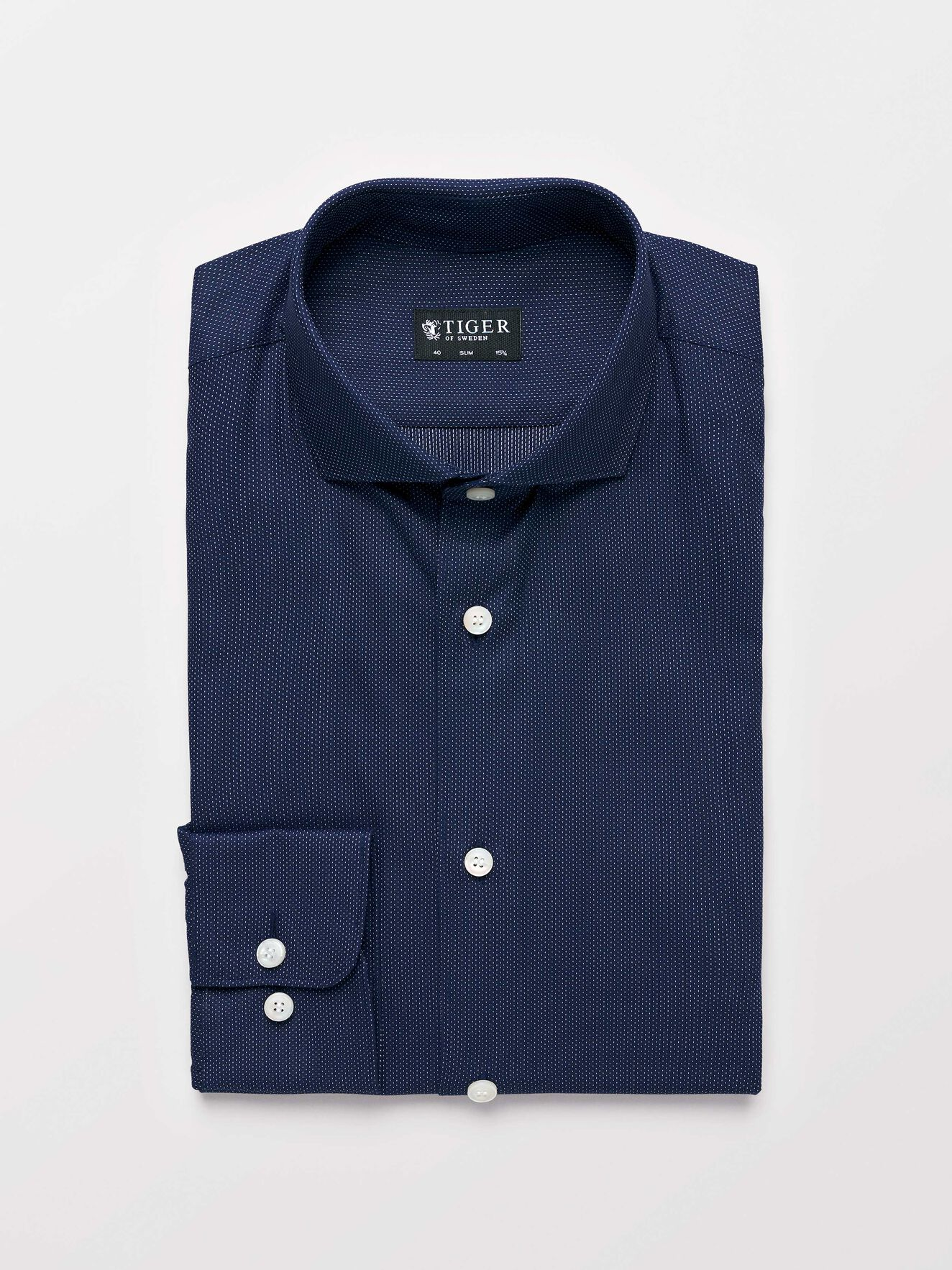 Farrell 5 Shirt in Royal Blue from Tiger of Sweden
