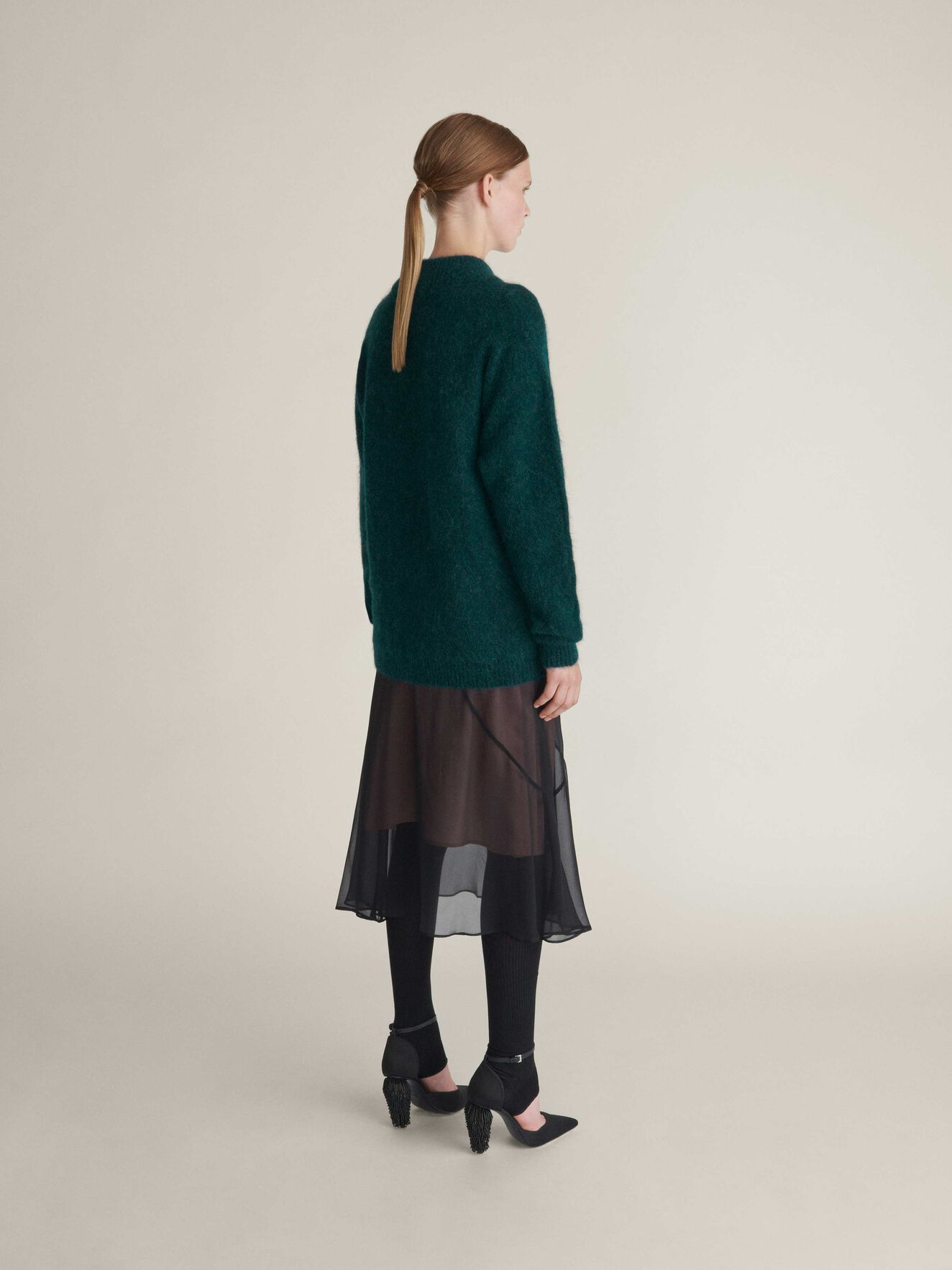 Cassio Pullover in Dark Forest from Tiger of Sweden
