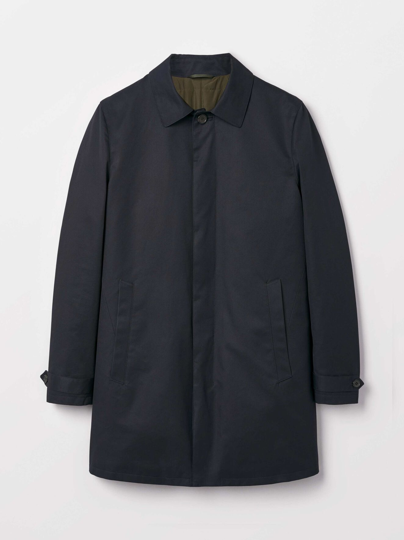Caled Coat in Light Ink from Tiger of Sweden