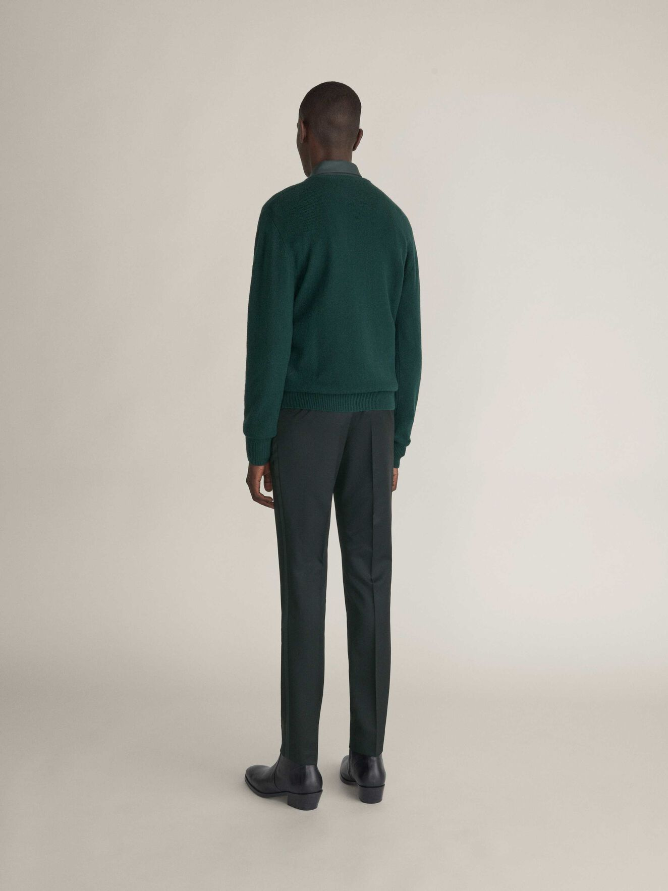 Nickol Pullover in Seaweed Green from Tiger of Sweden