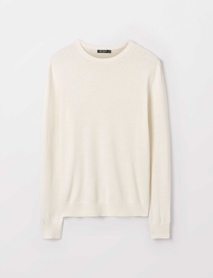Nawar Pullover in Gardenia from Tiger of Sweden