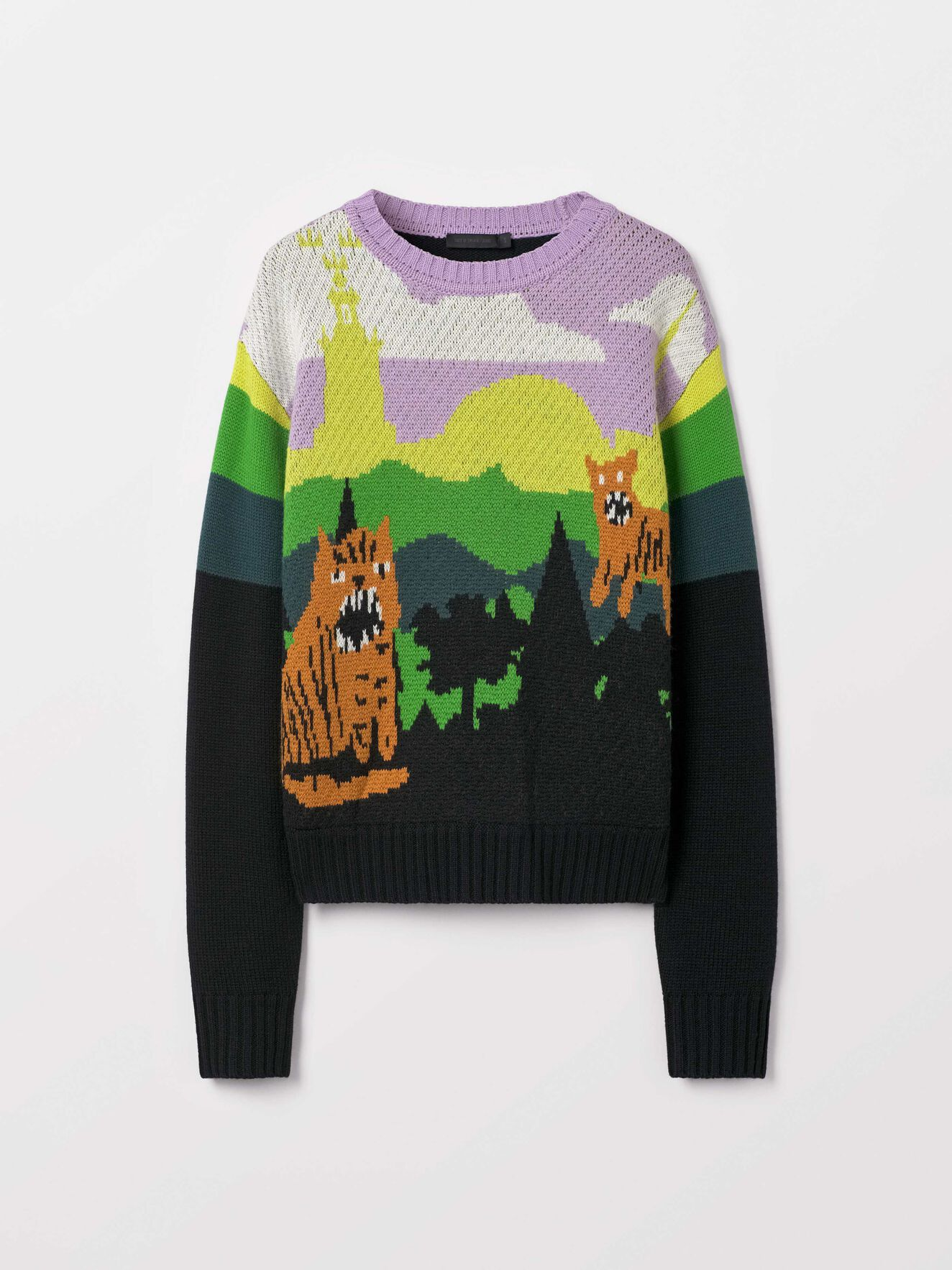 Fantasi Pullover in Pattern from Tiger of Sweden