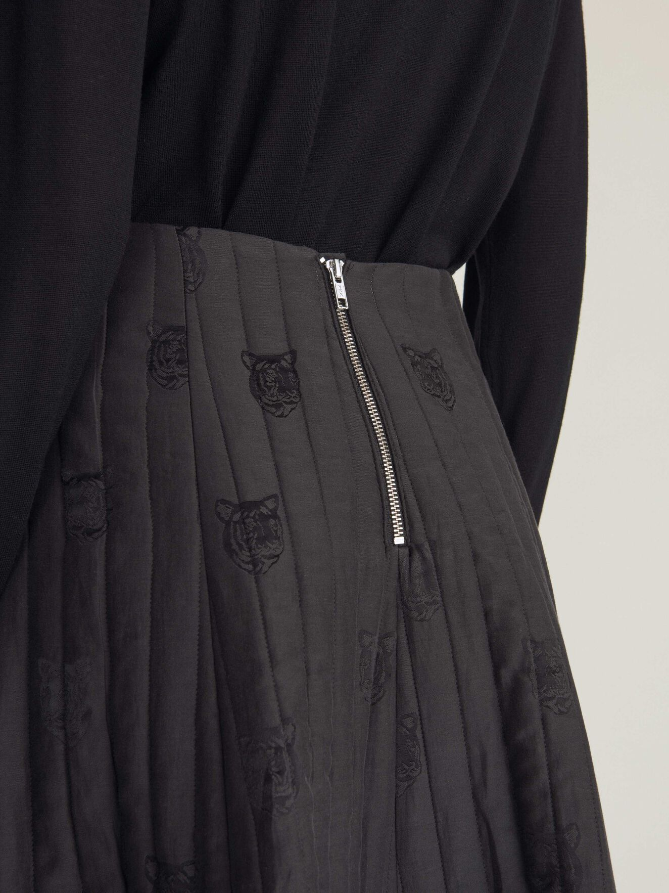 Leolla Skirt in Midnight Black from Tiger of Sweden