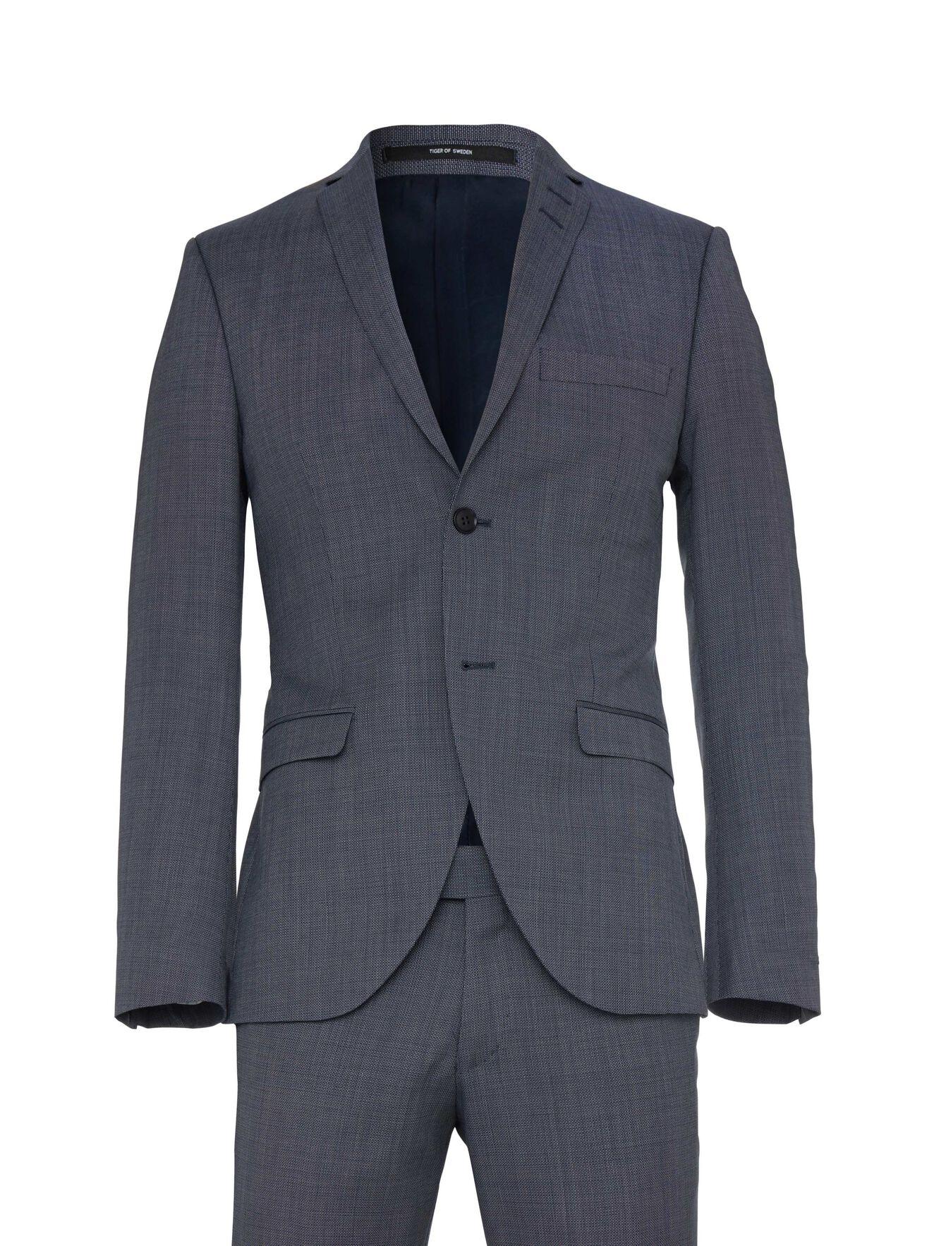 Jil 8 Suit in Soft Blue Melange from Tiger of Sweden