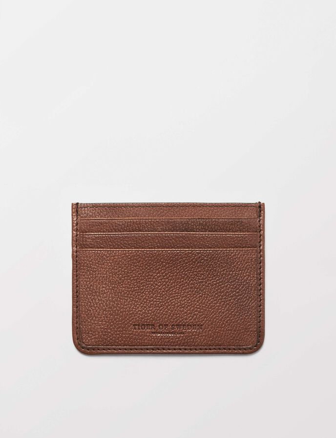 Gleizes card holder in Medium Brown from Tiger of Sweden