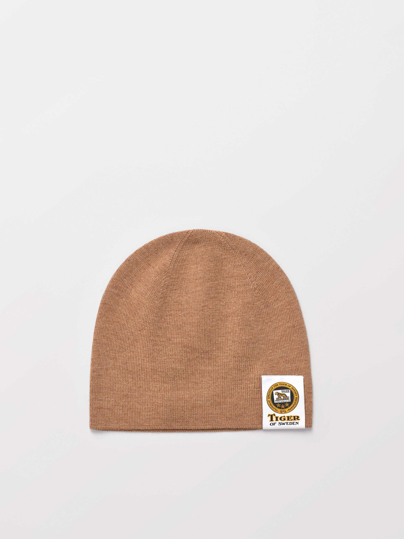 Sannder Beanie in Macchiato from Tiger of Sweden