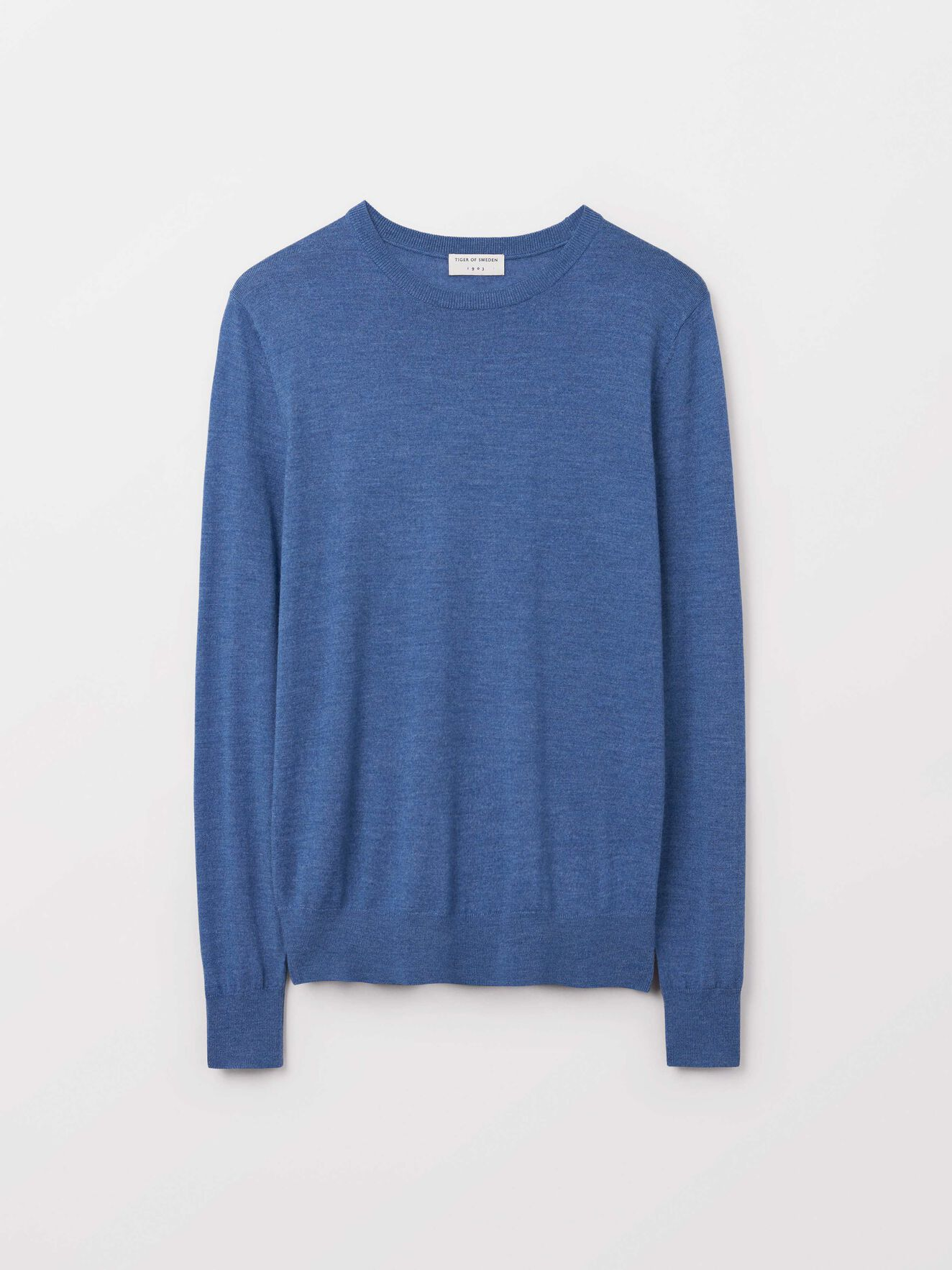 Nichols Pullover in Soft blue from Tiger of Sweden