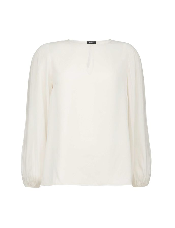 ZAO BLOUSE in Pastel Parchment from Tiger of Sweden