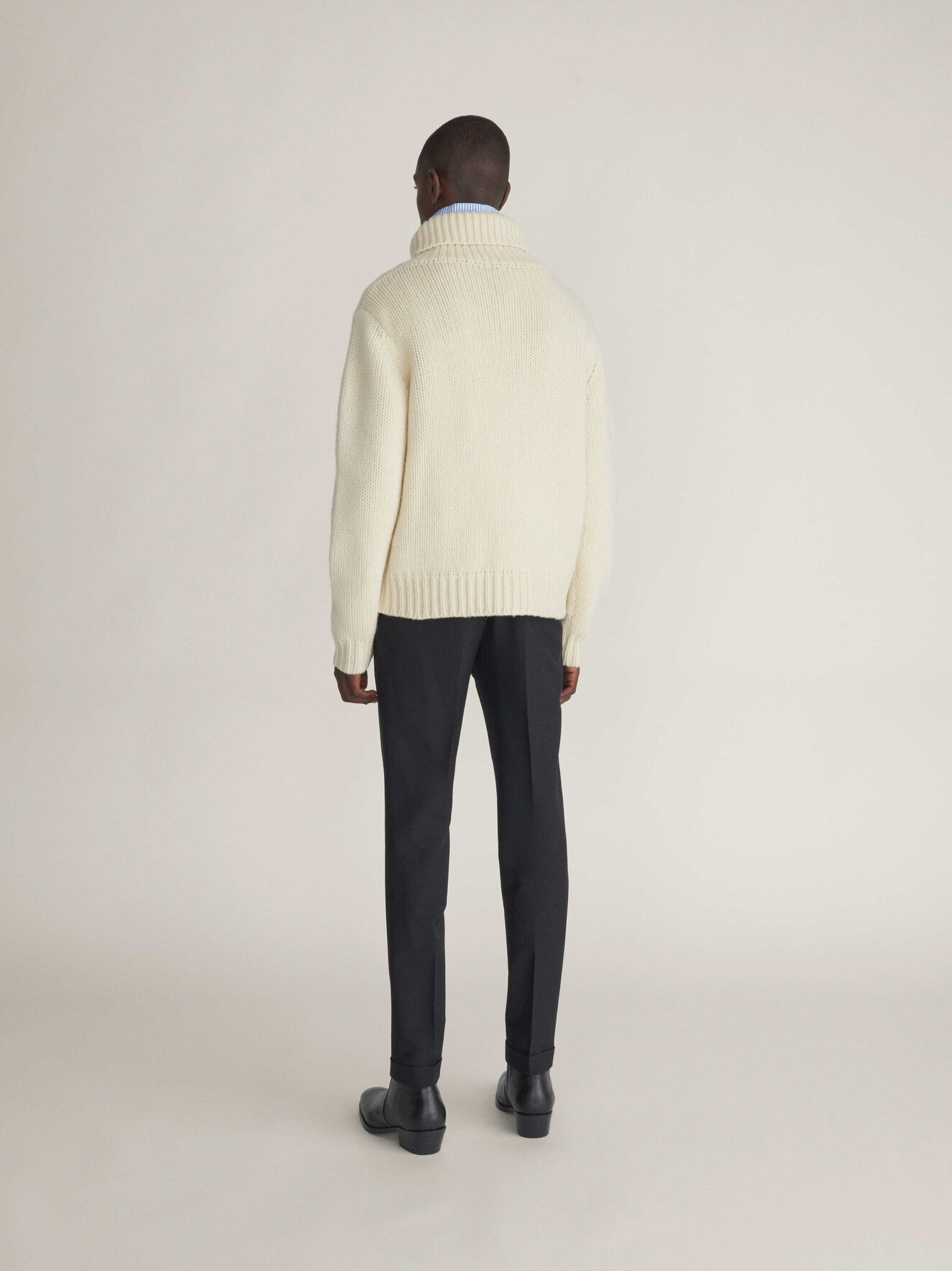 Nowell Pullover in Gardenia from Tiger of Sweden