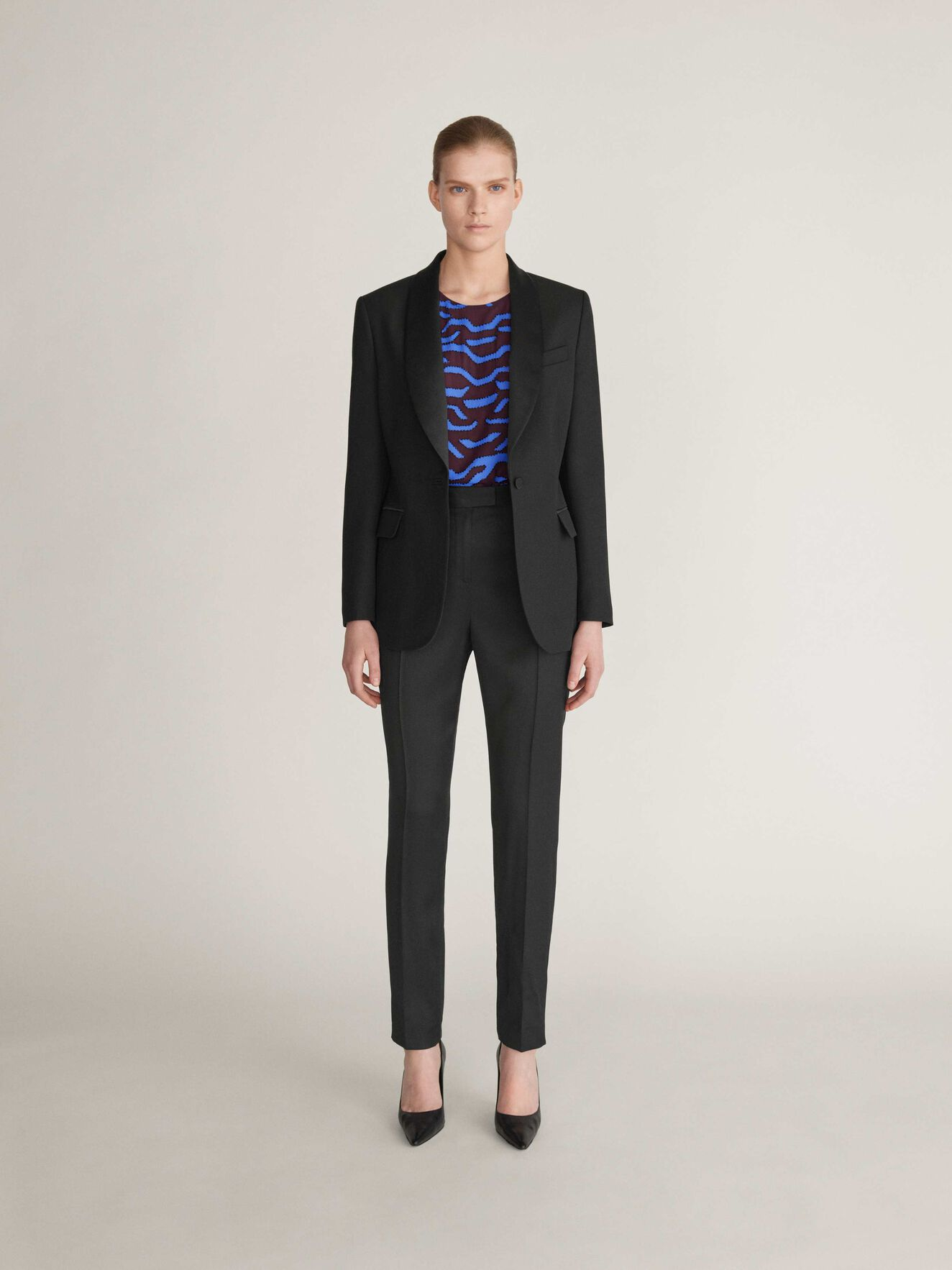 Nektar Blazer in Midnight Black from Tiger of Sweden