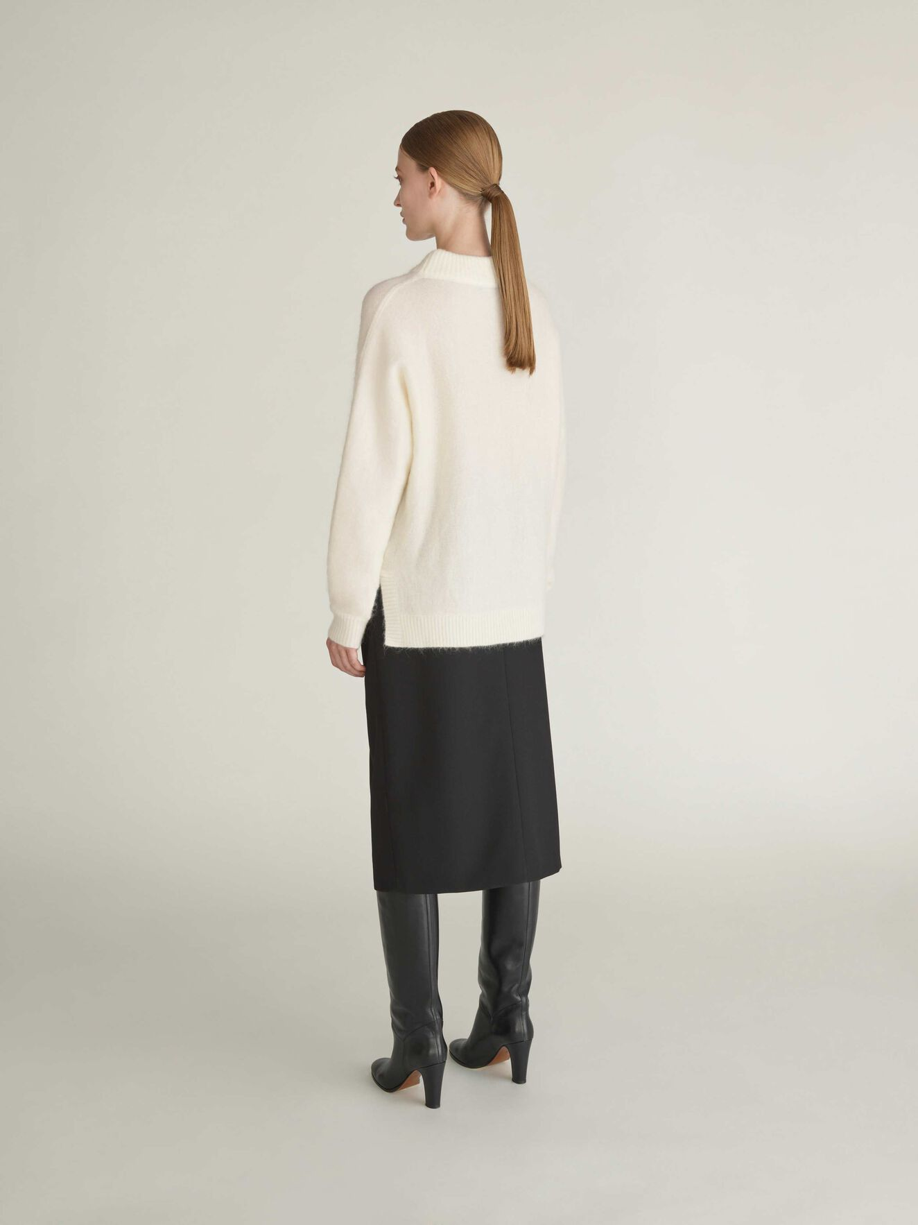 Gwyllen Pullover in Bright White from Tiger of Sweden