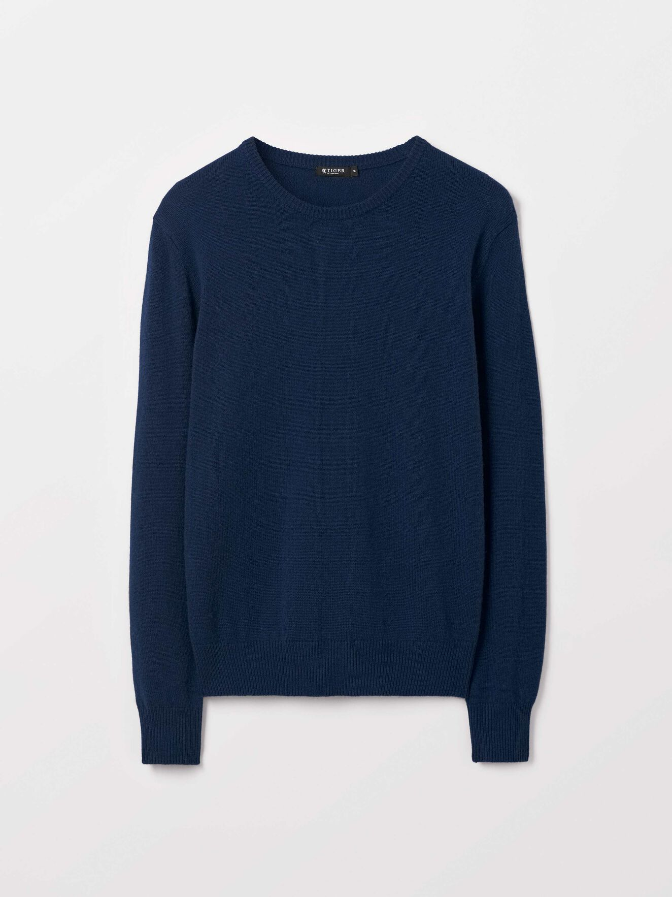 Nickol Pullover in Royal Blue from Tiger of Sweden
