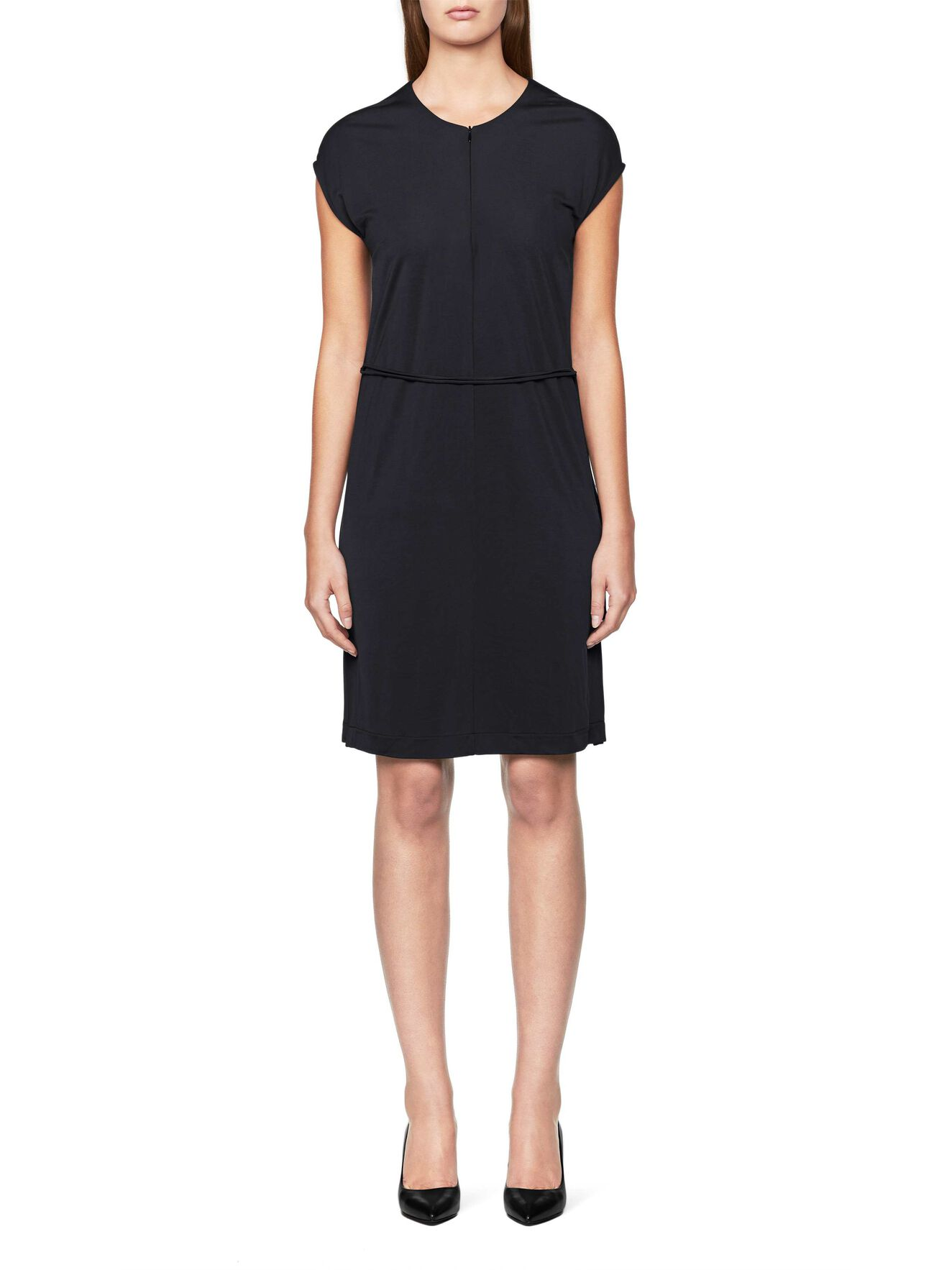 Erinia Dress in Midnight Black from Tiger of Sweden