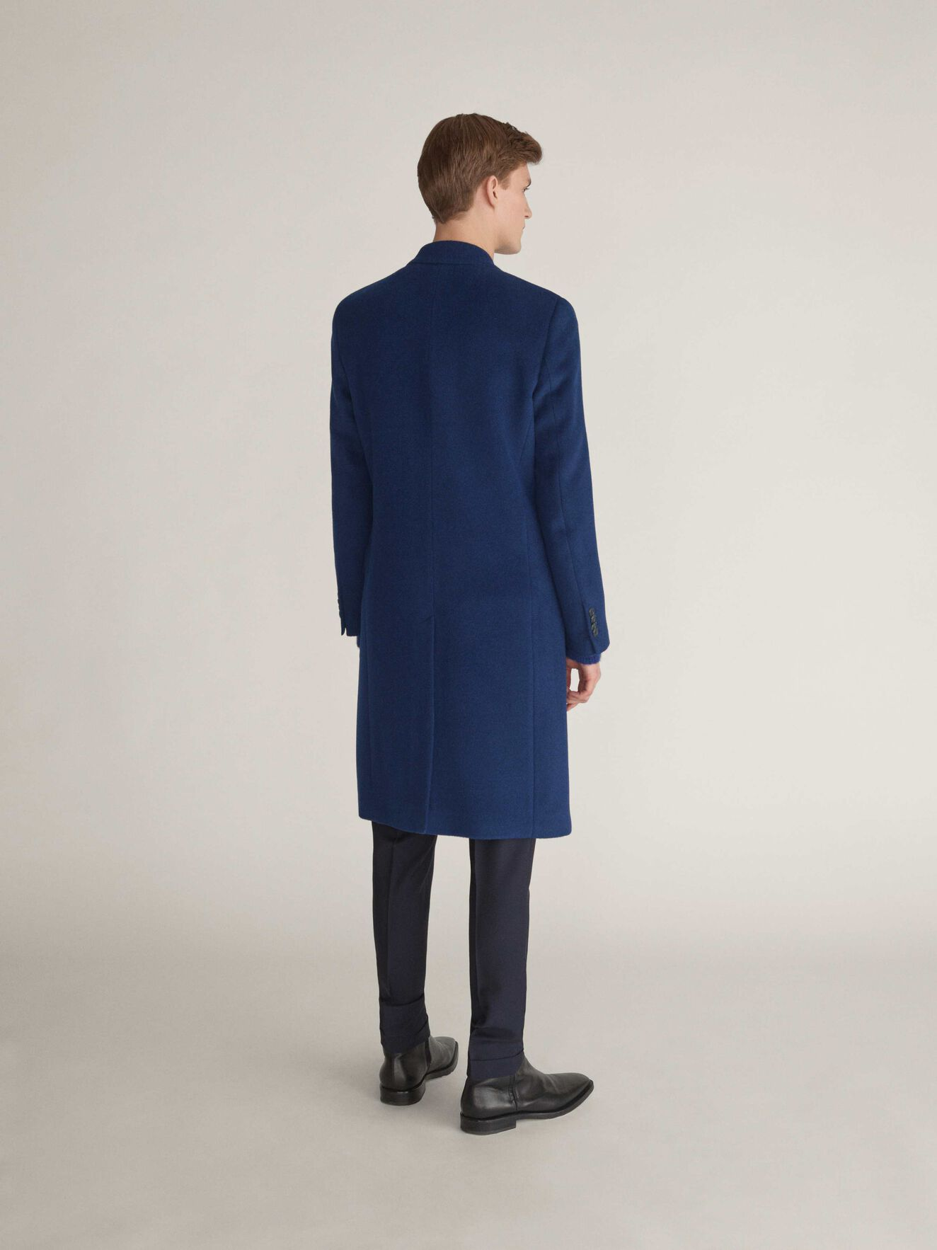 Coltron Coat in Pop Blue from Tiger of Sweden