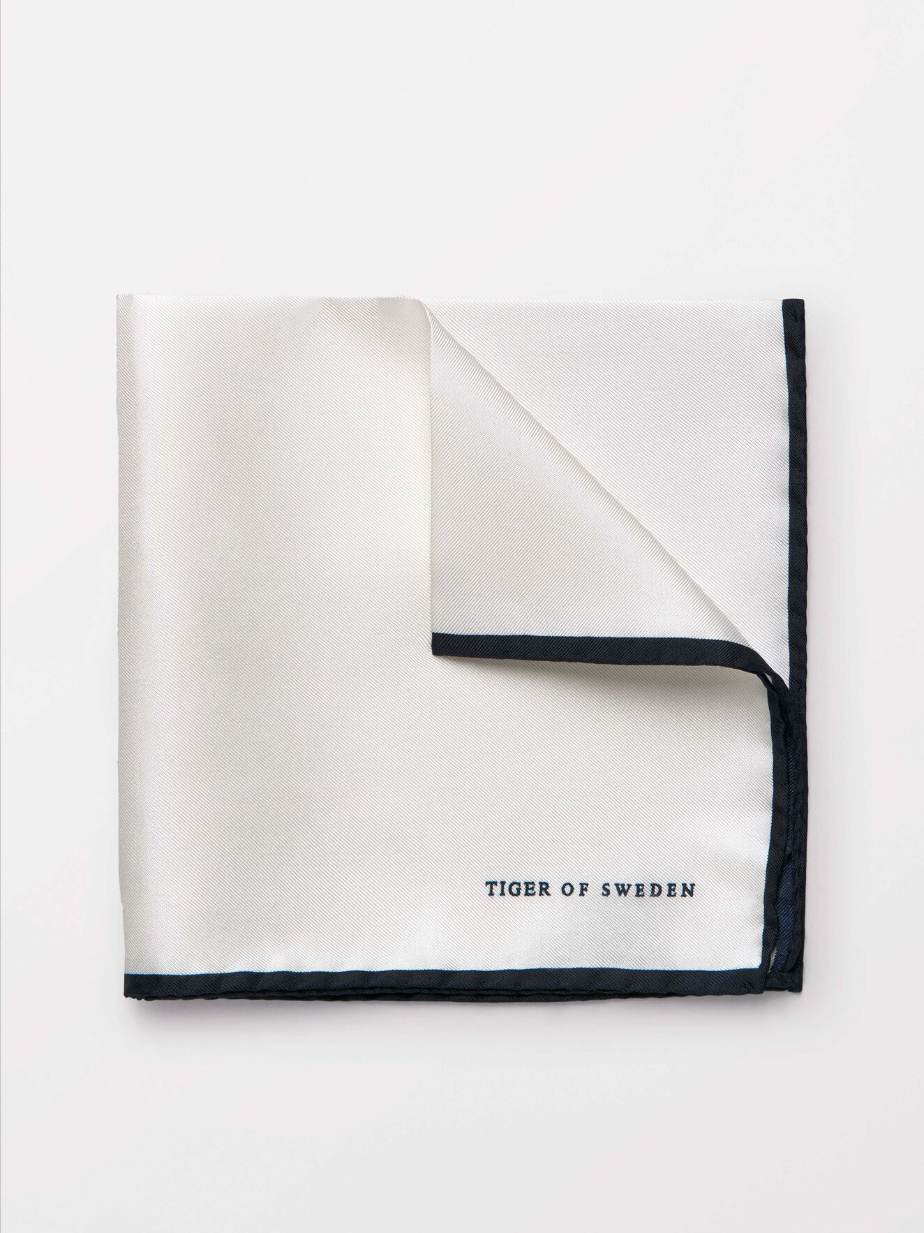 Luserna Silk Handkerchief in White from Tiger of Sweden