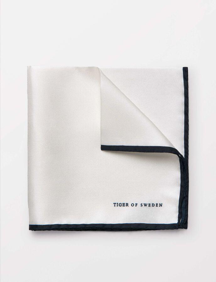 Luserna Silk Handkerchief in White from Tiger of Sweden