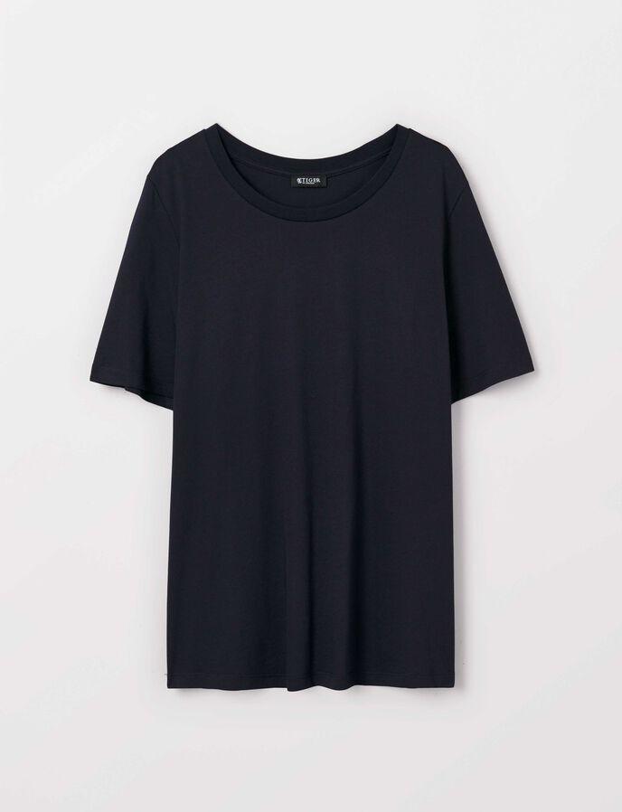 Deira T-Shirt in Dark Sea from Tiger of Sweden