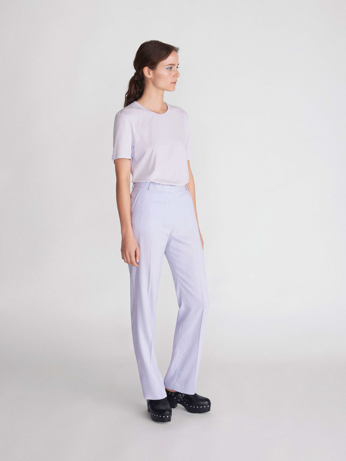 Deira T-Shirt in Soft Lavender from Tiger of Sweden