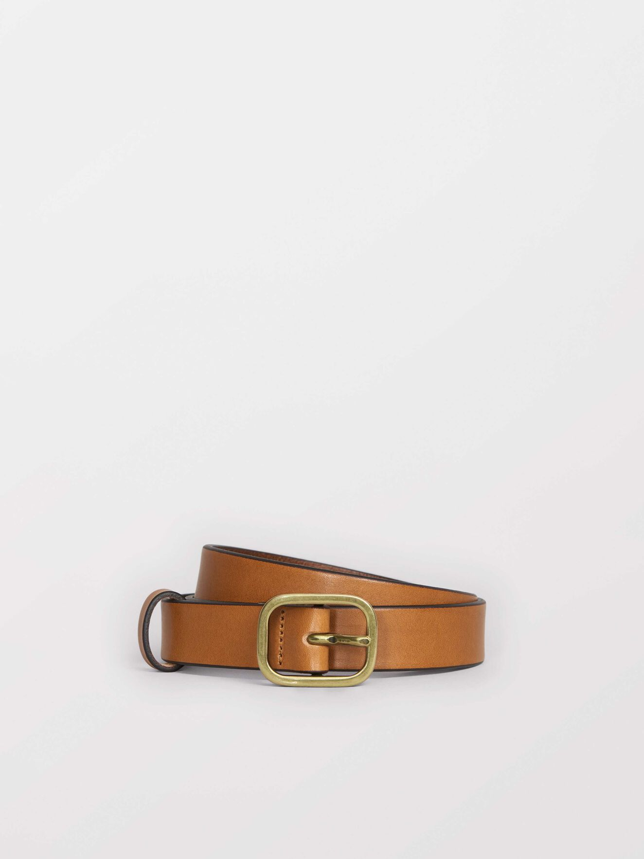 Ginziani Belt in Dark Brown from Tiger of Sweden
