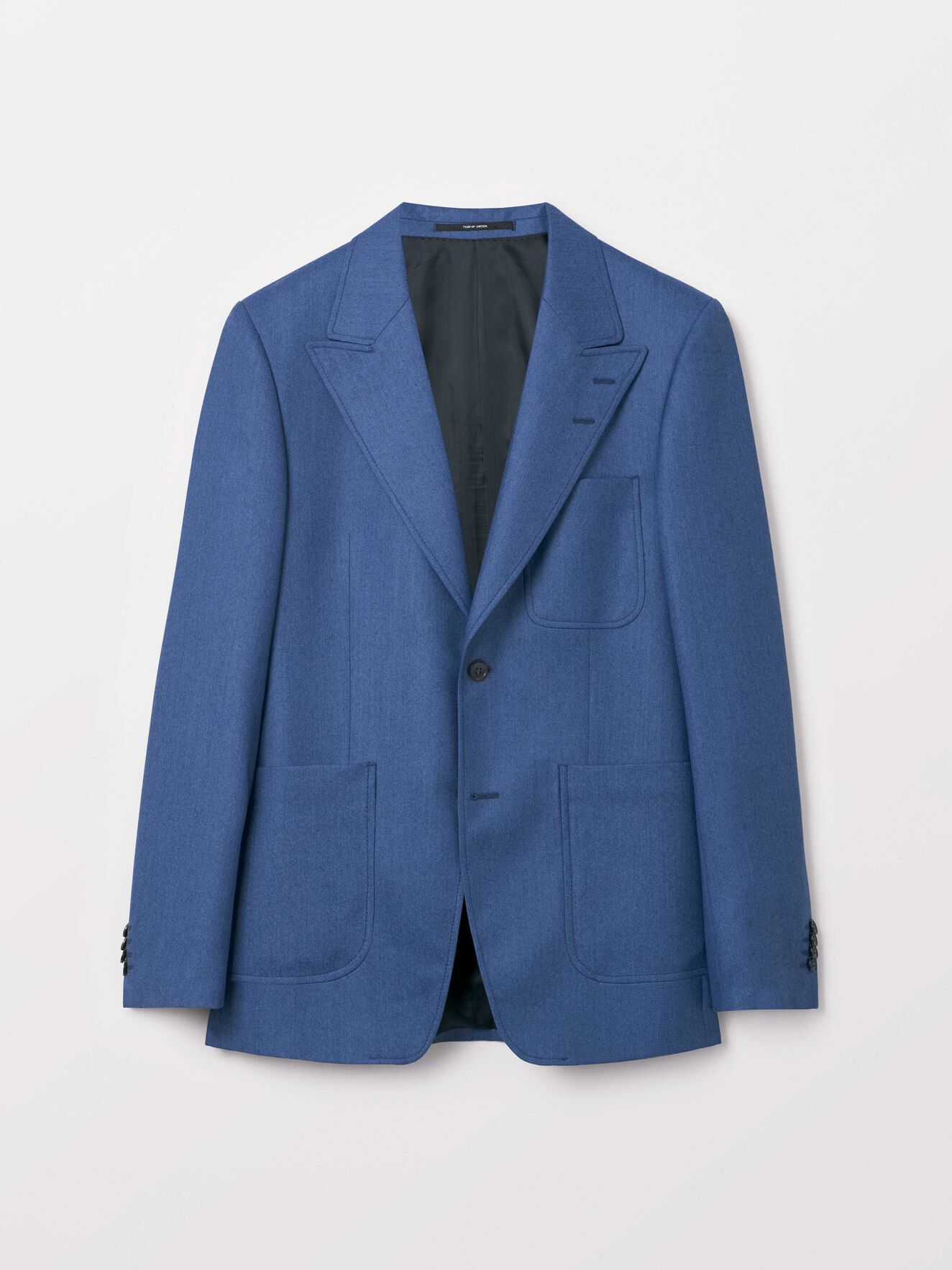 Javio Blazer in Blues from Tiger of Sweden
