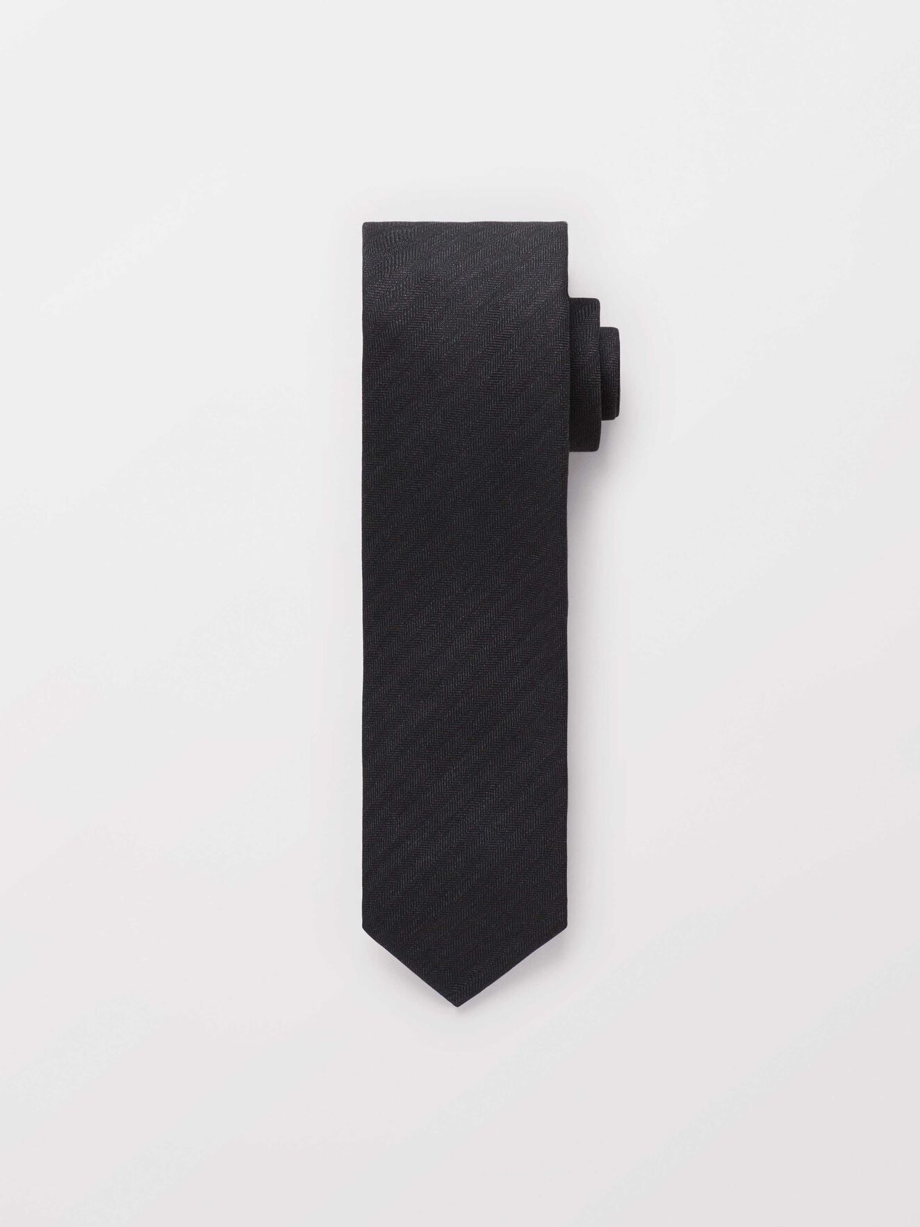Triss Tie in Dark grey Mel from Tiger of Sweden