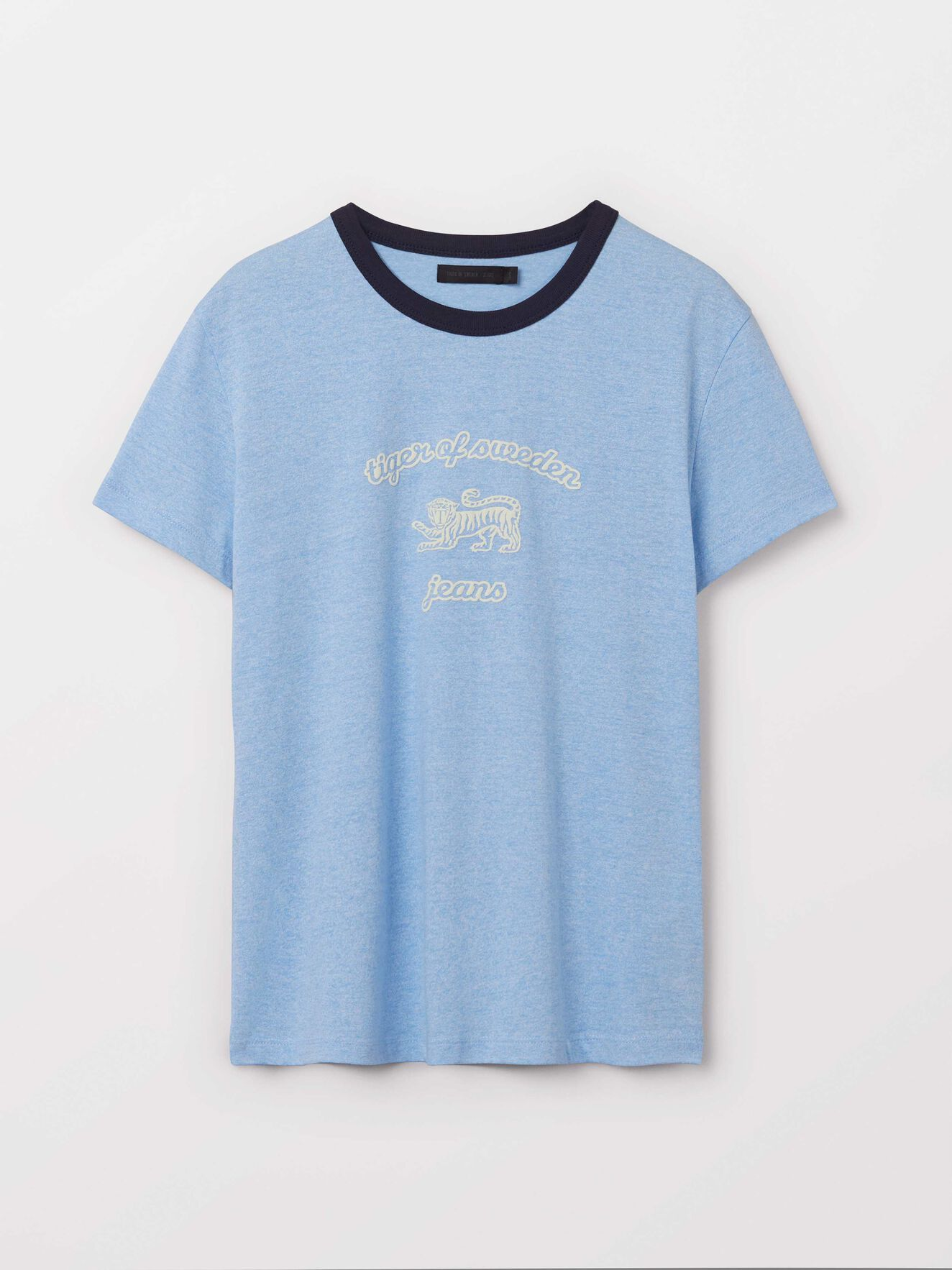 Dirty T-Shirt in Chambray Blue from Tiger of Sweden
