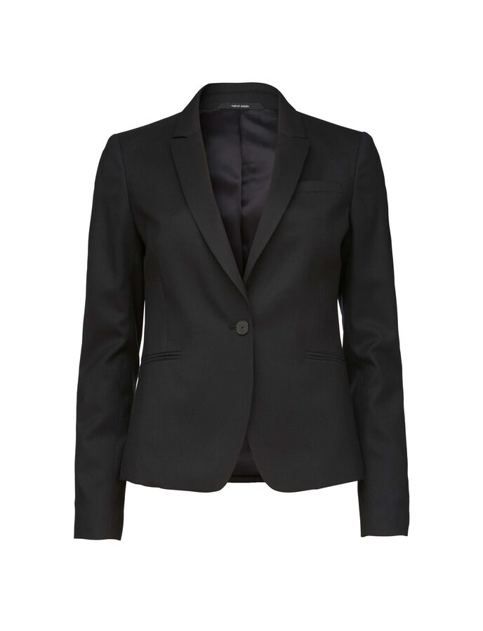 FRANCA 2 BLAZER in Midnight Black from Tiger of Sweden