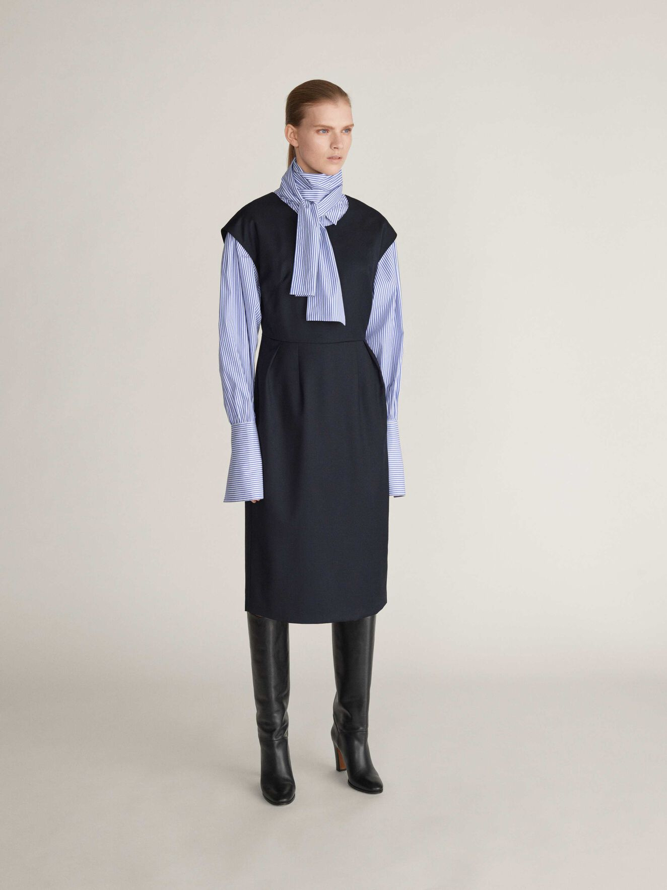 Cady Dress in Dark Sea from Tiger of Sweden