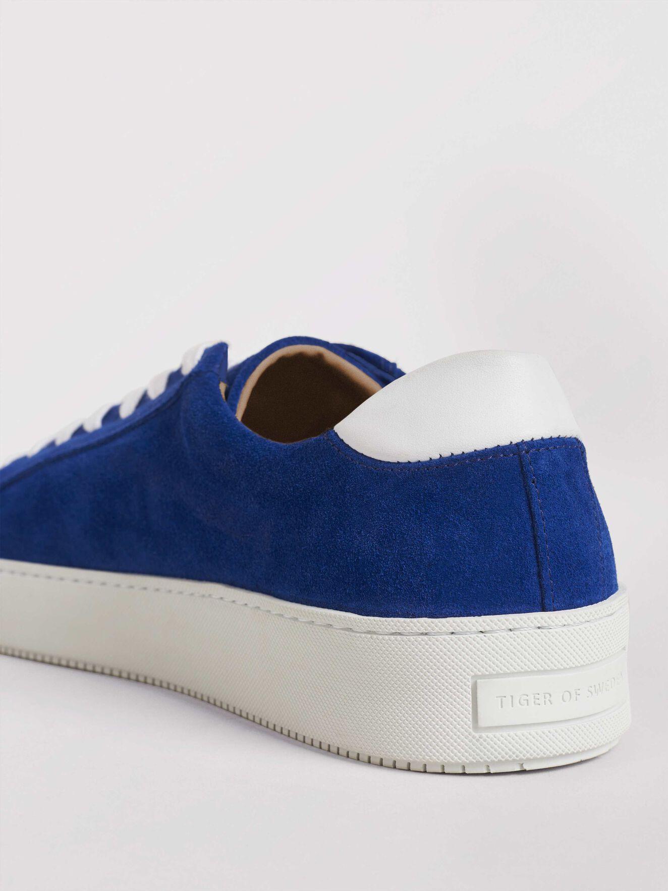 Salas S Sneakers in Deep Ocean Blue from Tiger of Sweden
