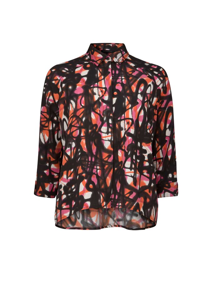 DUAL PRINT-BLUSE in Pattern from Tiger of Sweden