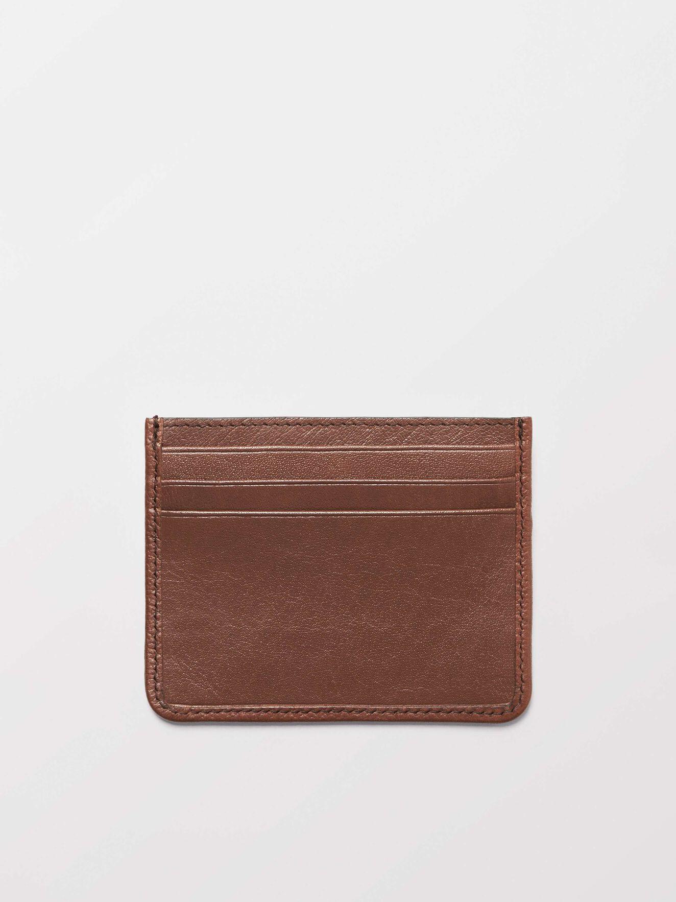 Gleizes Card Holder in Medium Brown from Tiger of Sweden