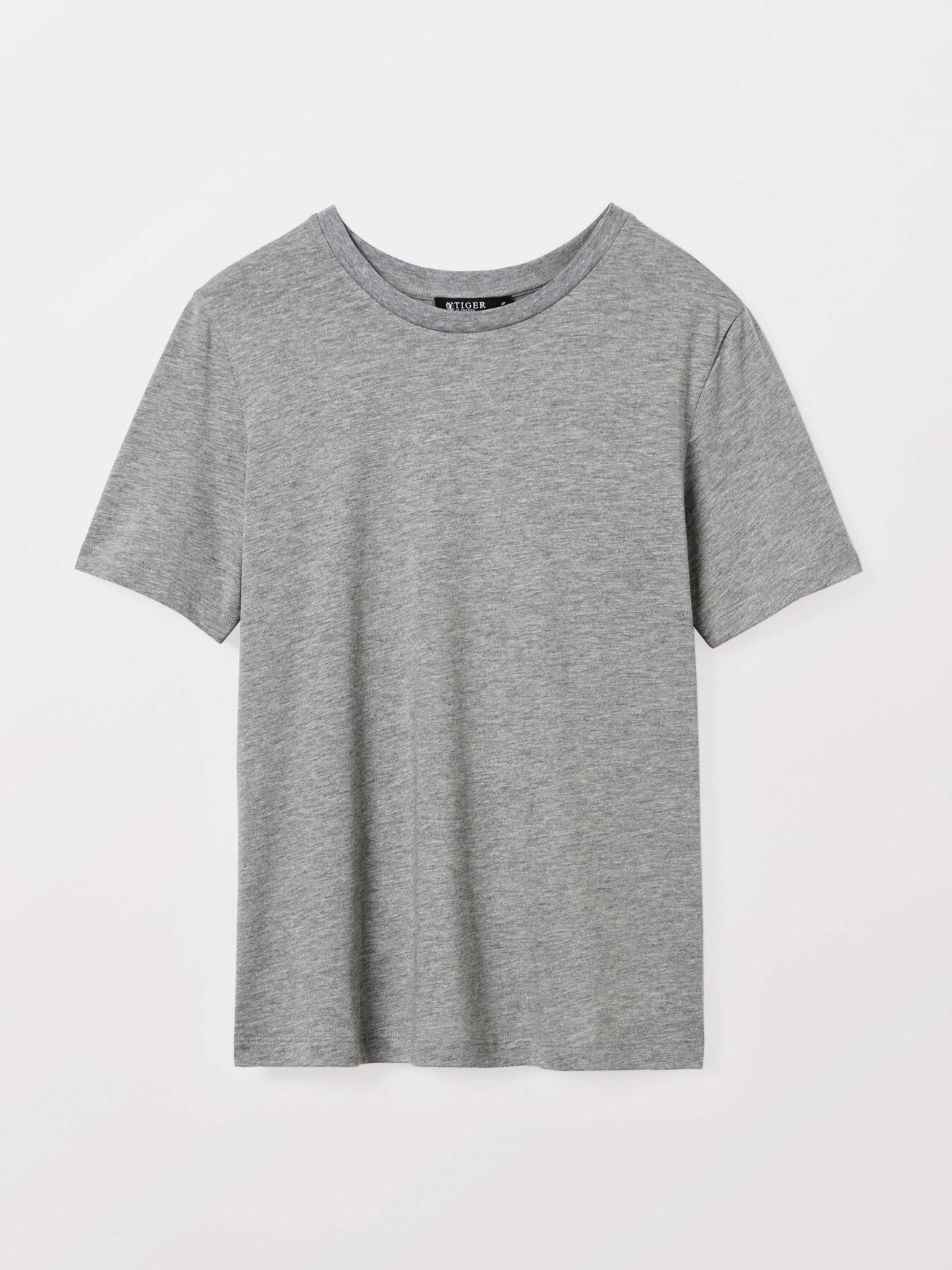 Deira t-shirt  in Med Grey Mel from Tiger of Sweden