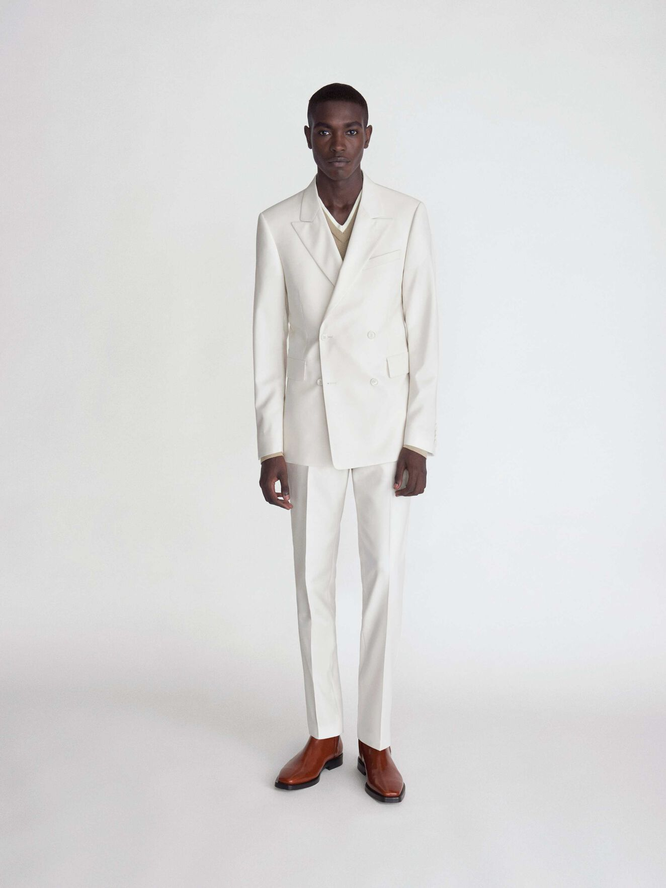 Todd Trousers in Pure white from Tiger of Sweden