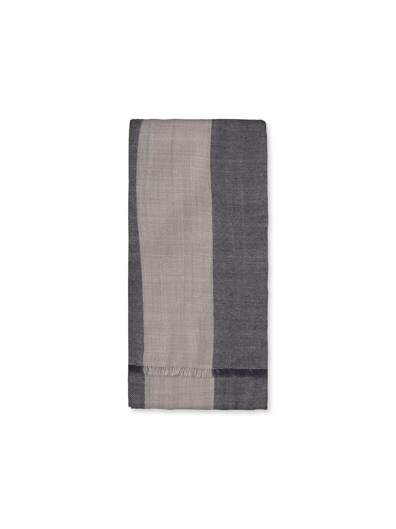 Emin Scarf in Fall Concrete from Tiger of Sweden