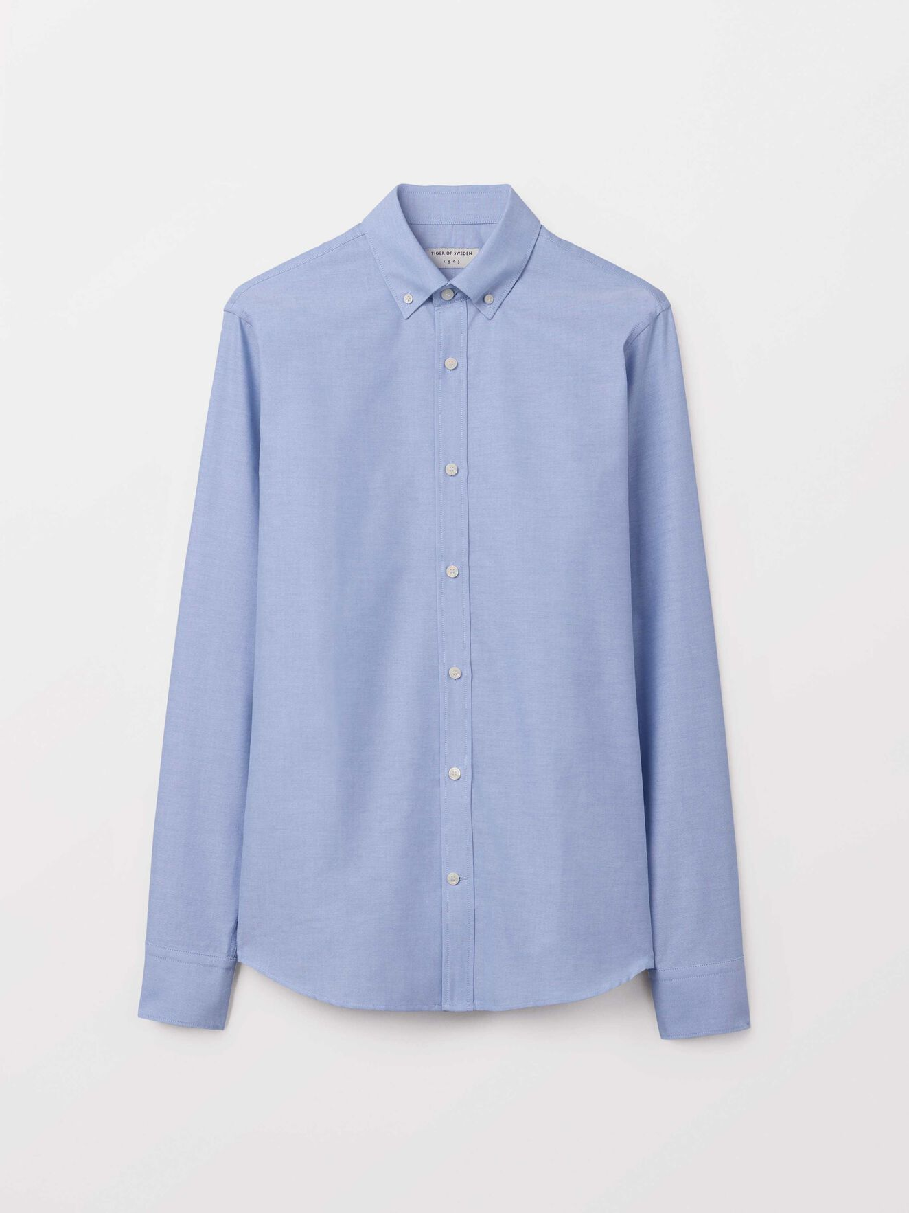 Fenald Shirt in Dust blue from Tiger of Sweden
